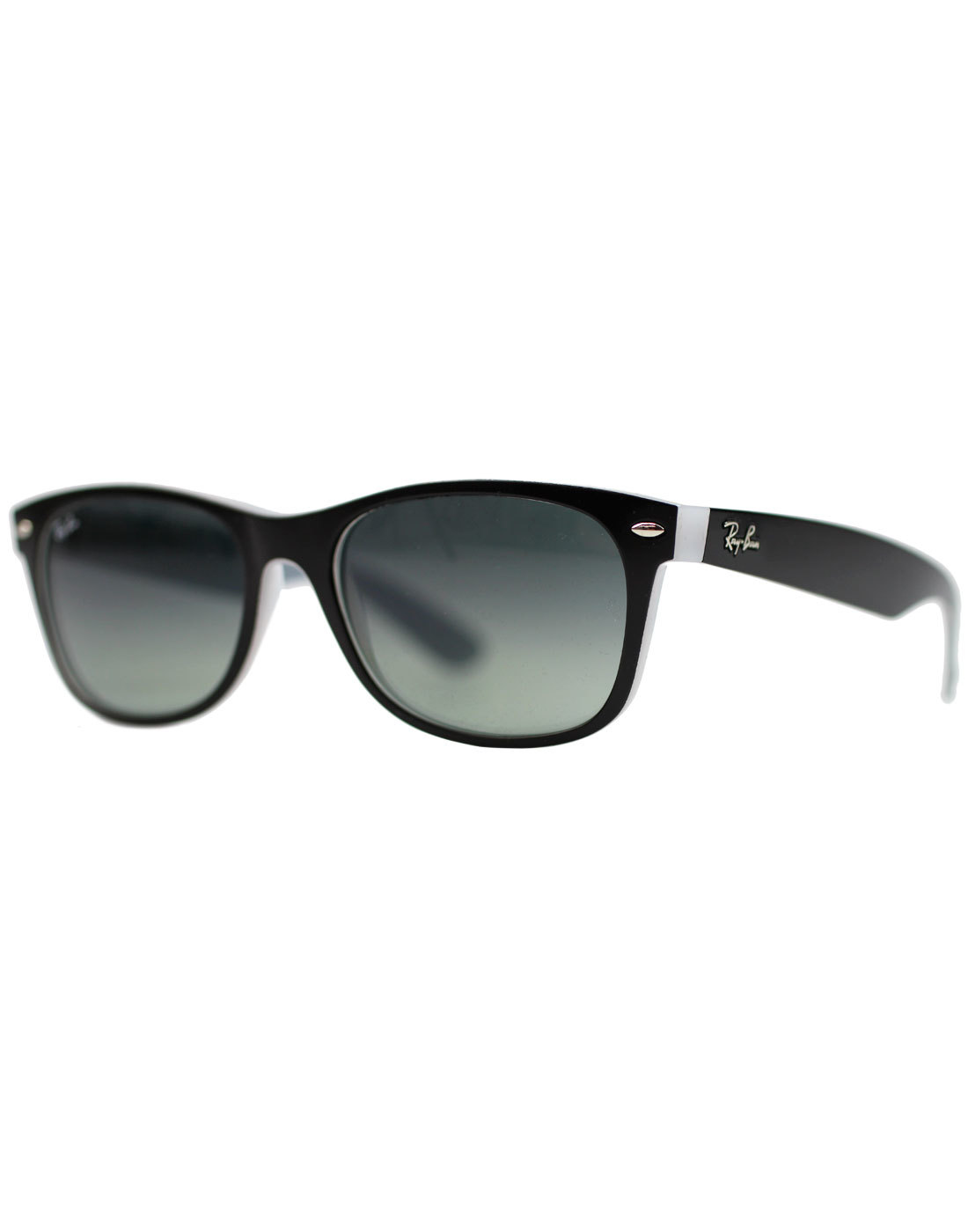 New Wayfarer RAY-BAN Retro Sunglasses - Black/Ice