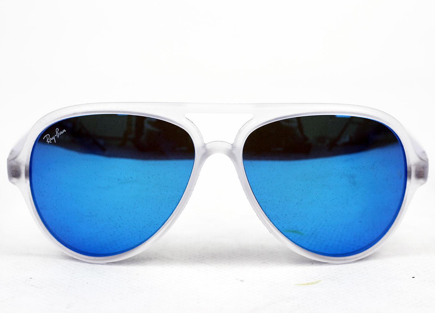 ray ban aviator blue vintage
