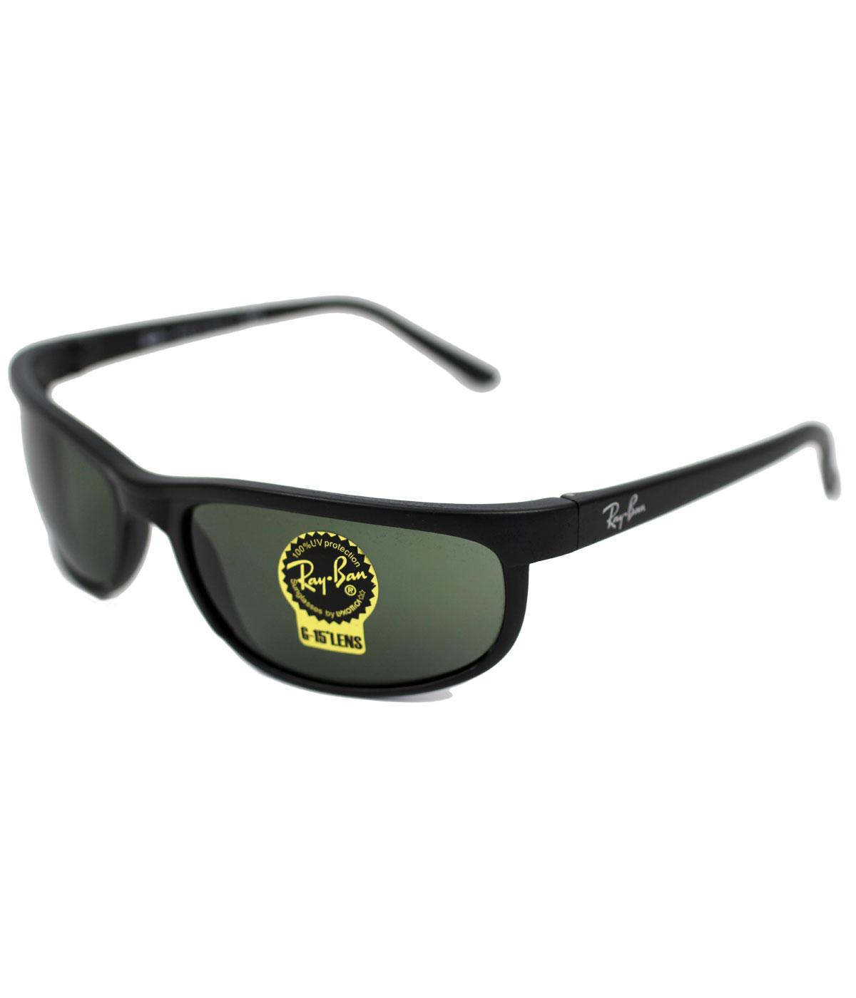 Ray-Ban Predator Retro Wrap Round G-15 Sunglasses