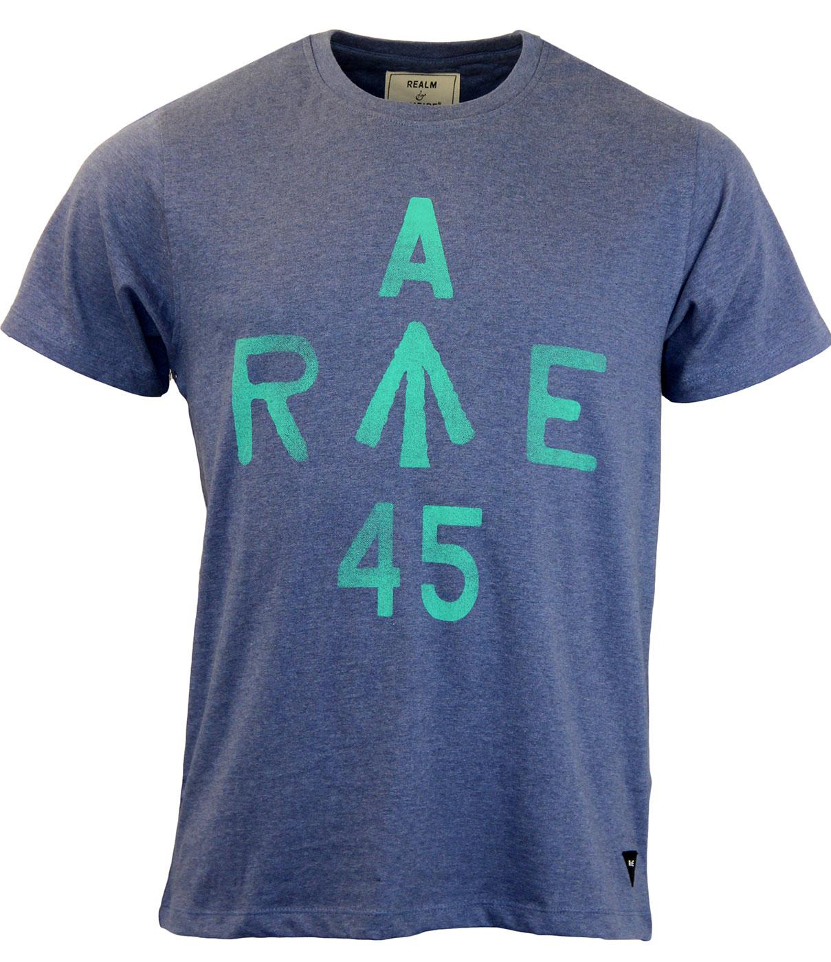 REALM & EMPIRE Rae Retro CC41 Stamp Style T-shirt