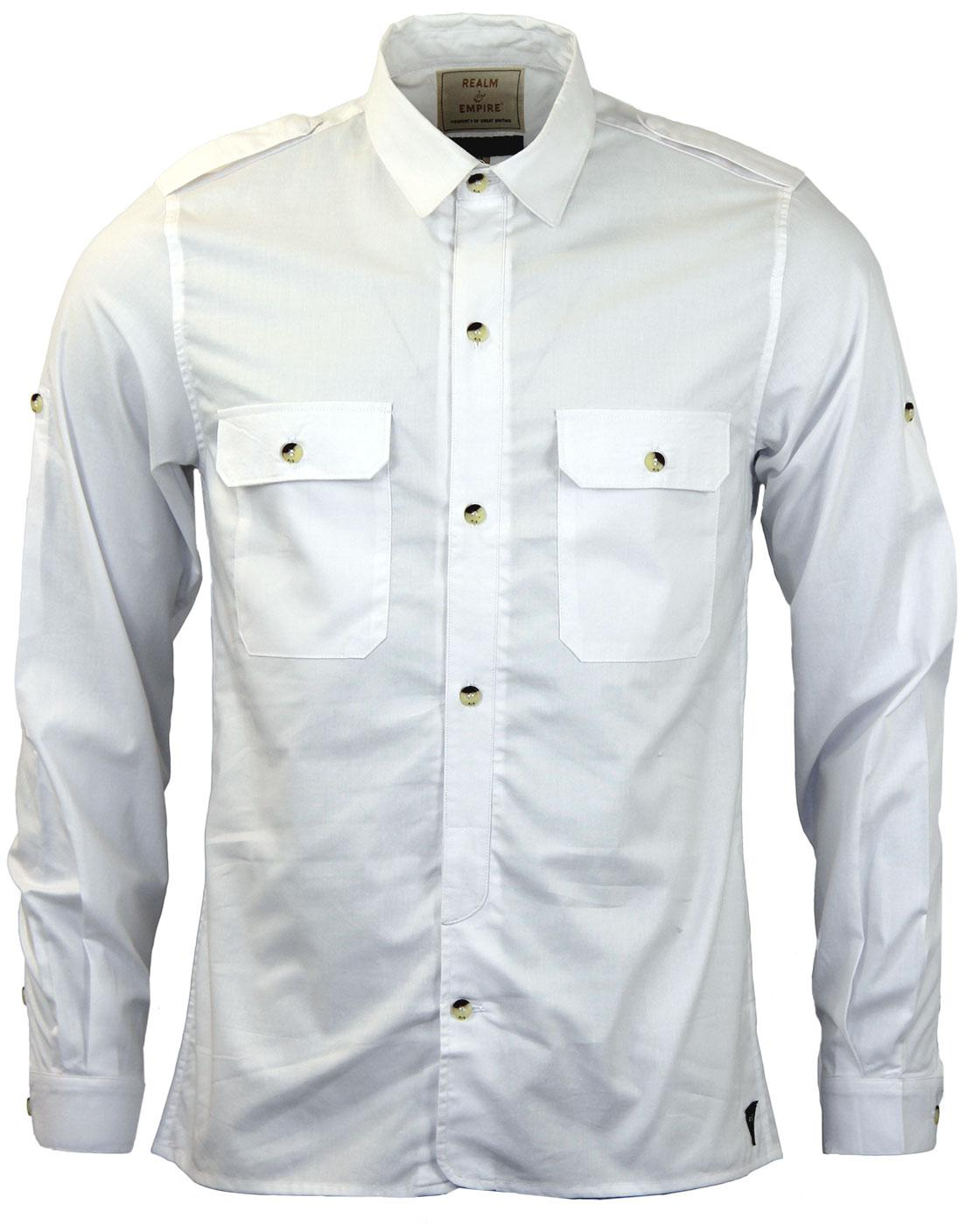 Wittering REALM & EMPIRE Demob Military Shirt