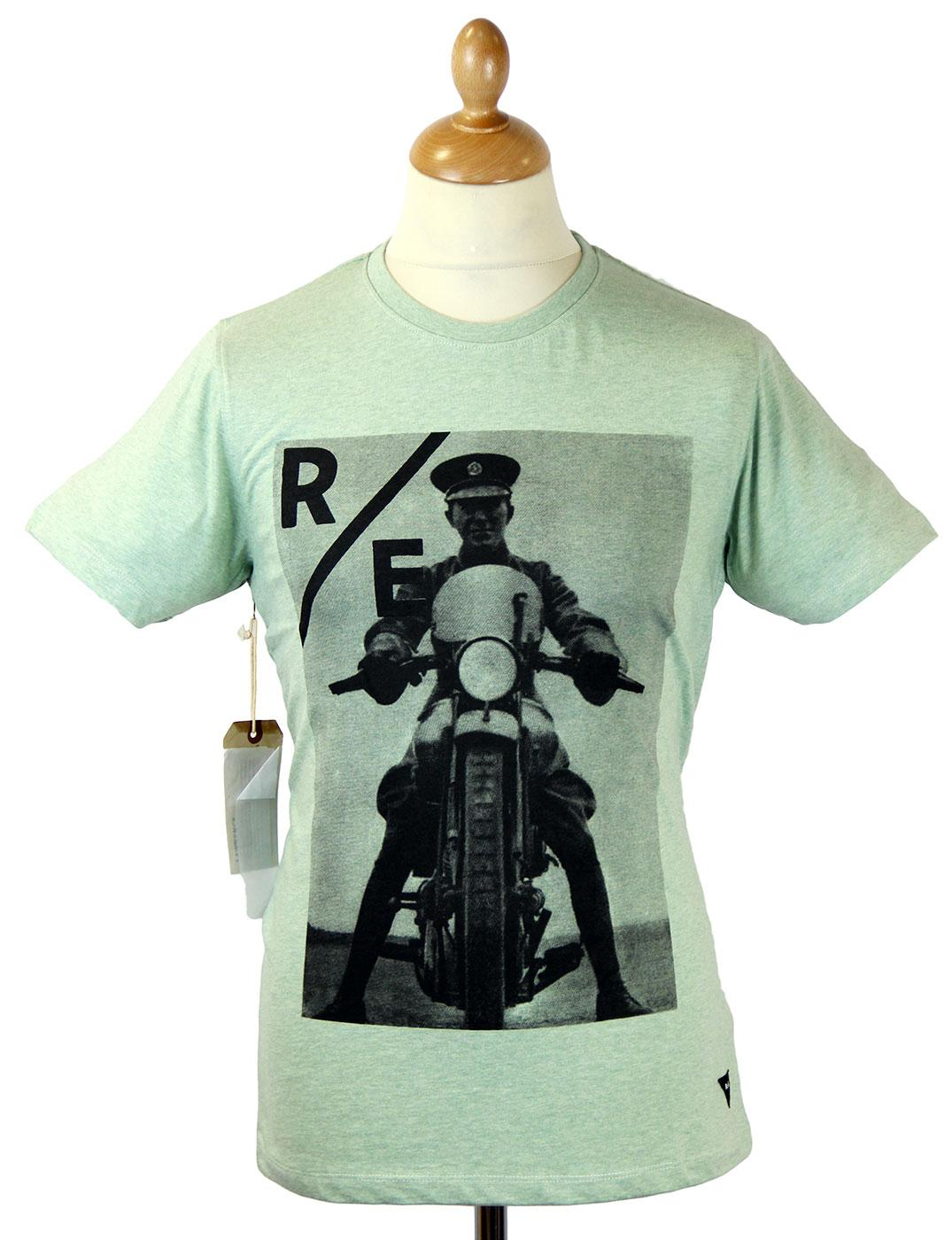Lawrence REALM & EMPIRE Retro WWI Photo T-Shirt CG