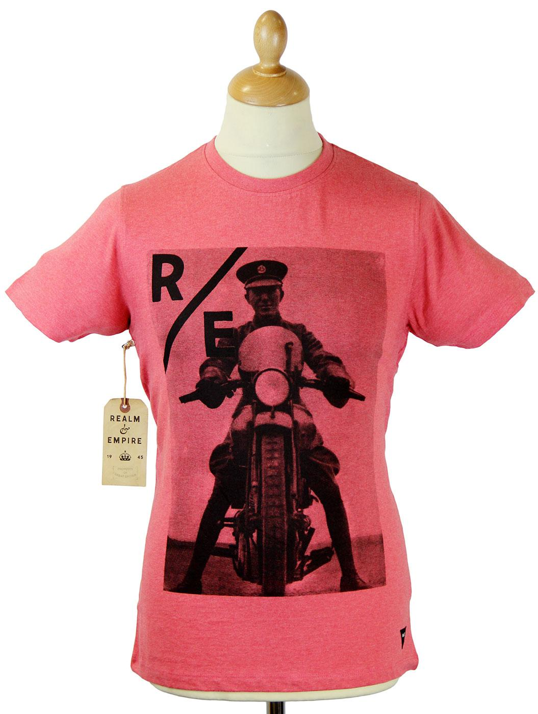 Lawrence REALM & EMPIRE Retro WWI Photo T-Shirt CR