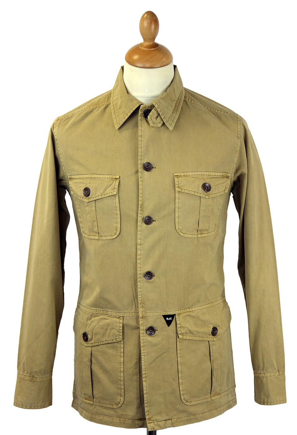 REALM & EMPIRE Retro Military Classic Overshirt T