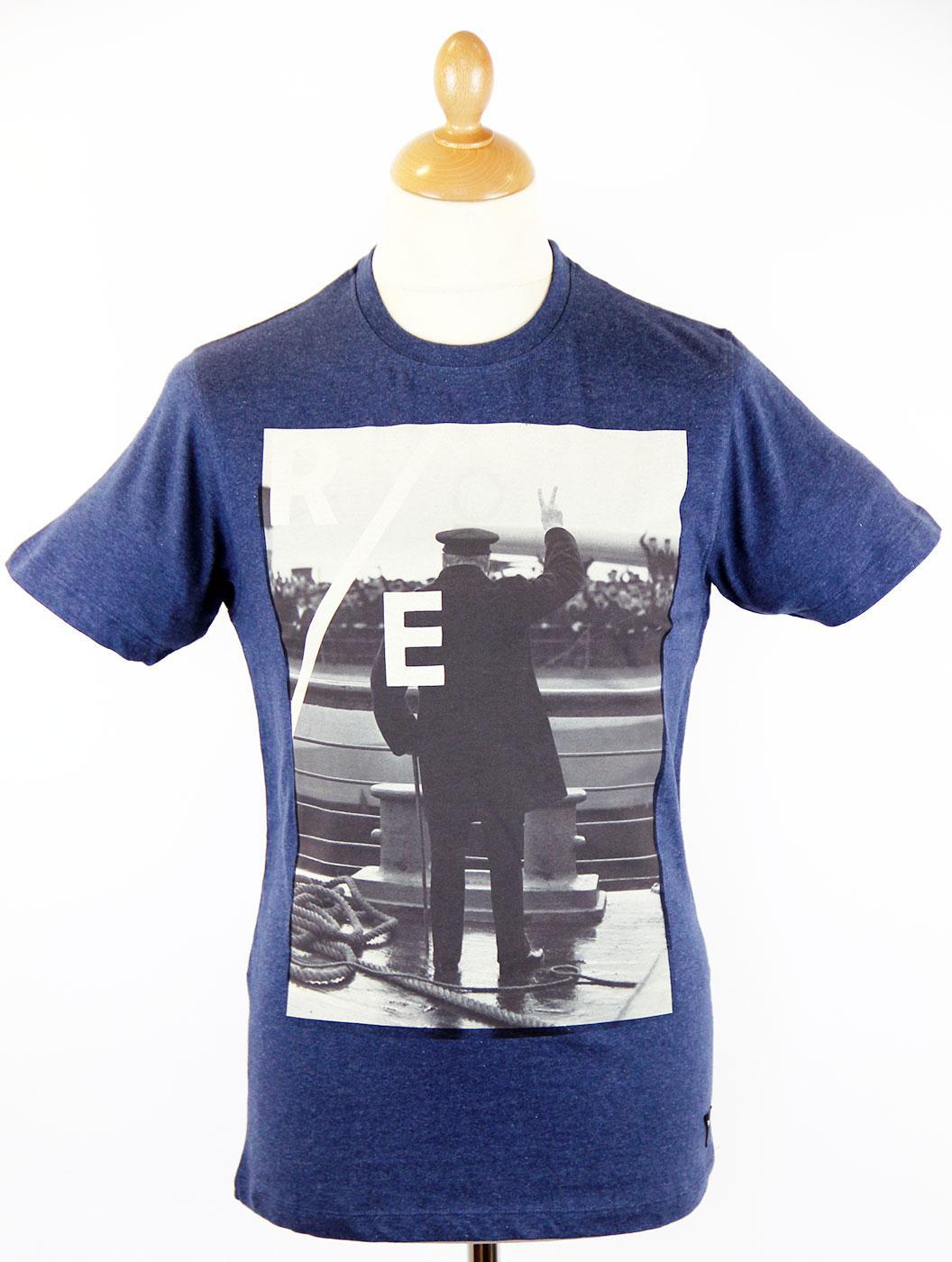 V for Victory REALM & EMPIRE Retro Churchill Tee