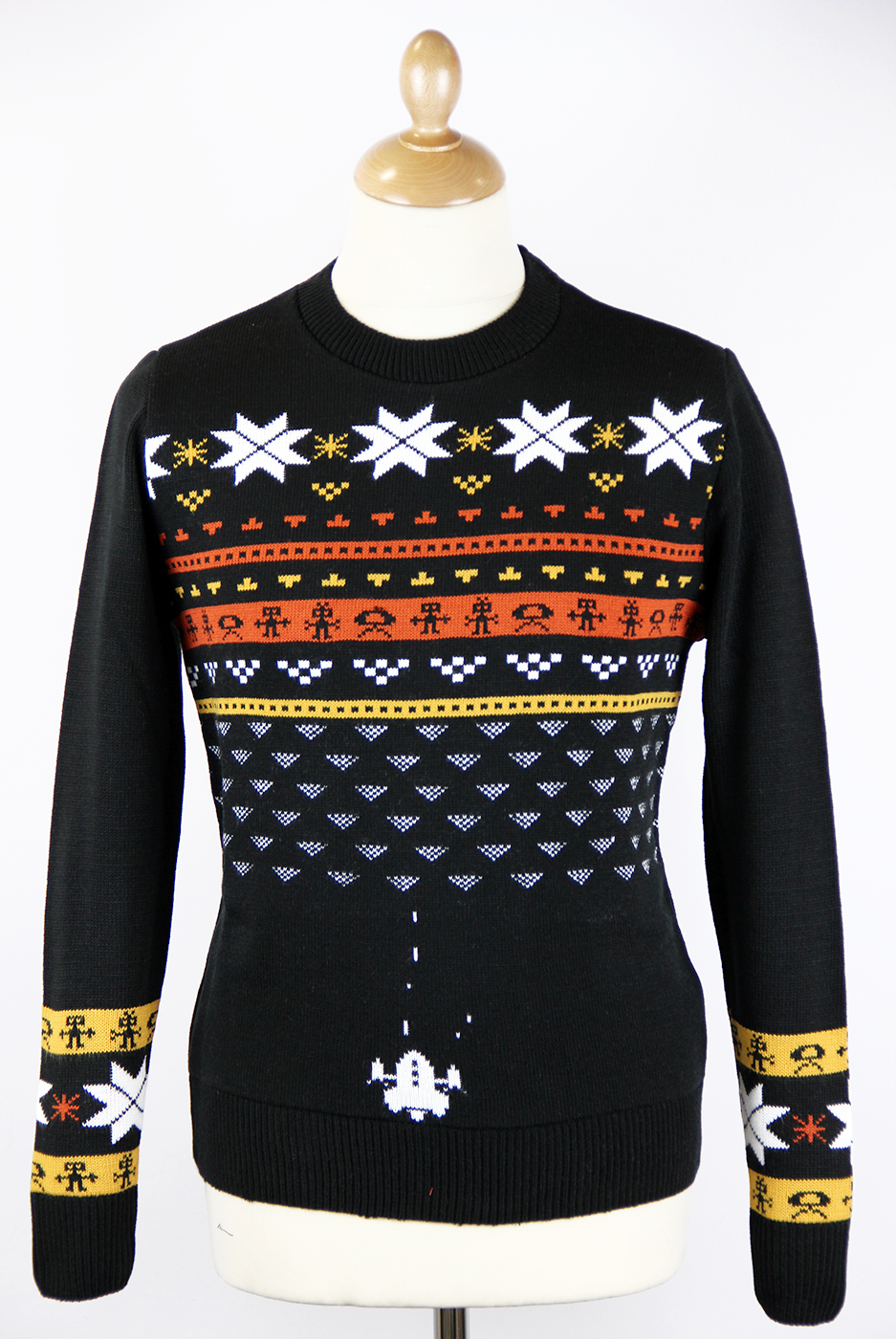 Does My Asteroid Look Good Retro Christmas Jumper