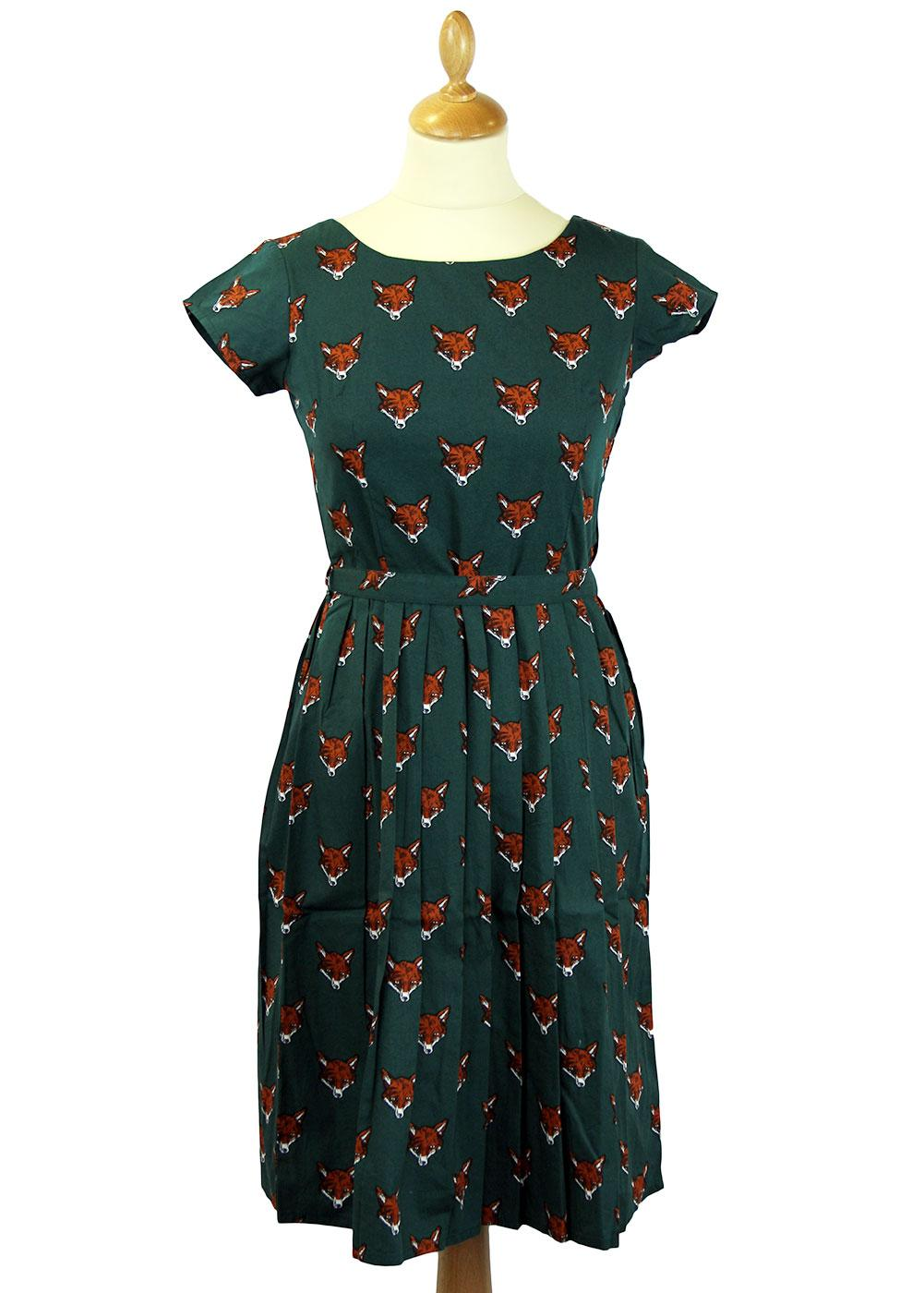 Foxy Retro 1950s Vintage Summer Tea Dress