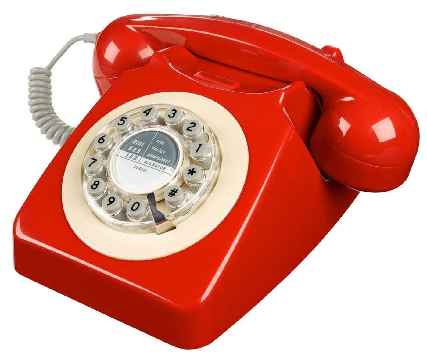 746 Retro Sixties Mod British Telephone Pbr