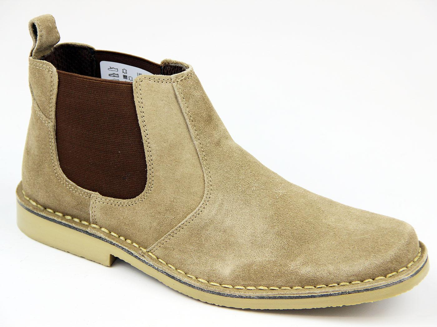 Kings Road Kalahari 60s Mod Chelsea Desert Boots T