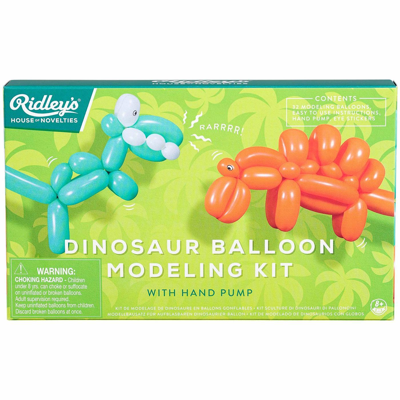 RIDLEY'S Retro Dinosaur Balloon Modelling Kit