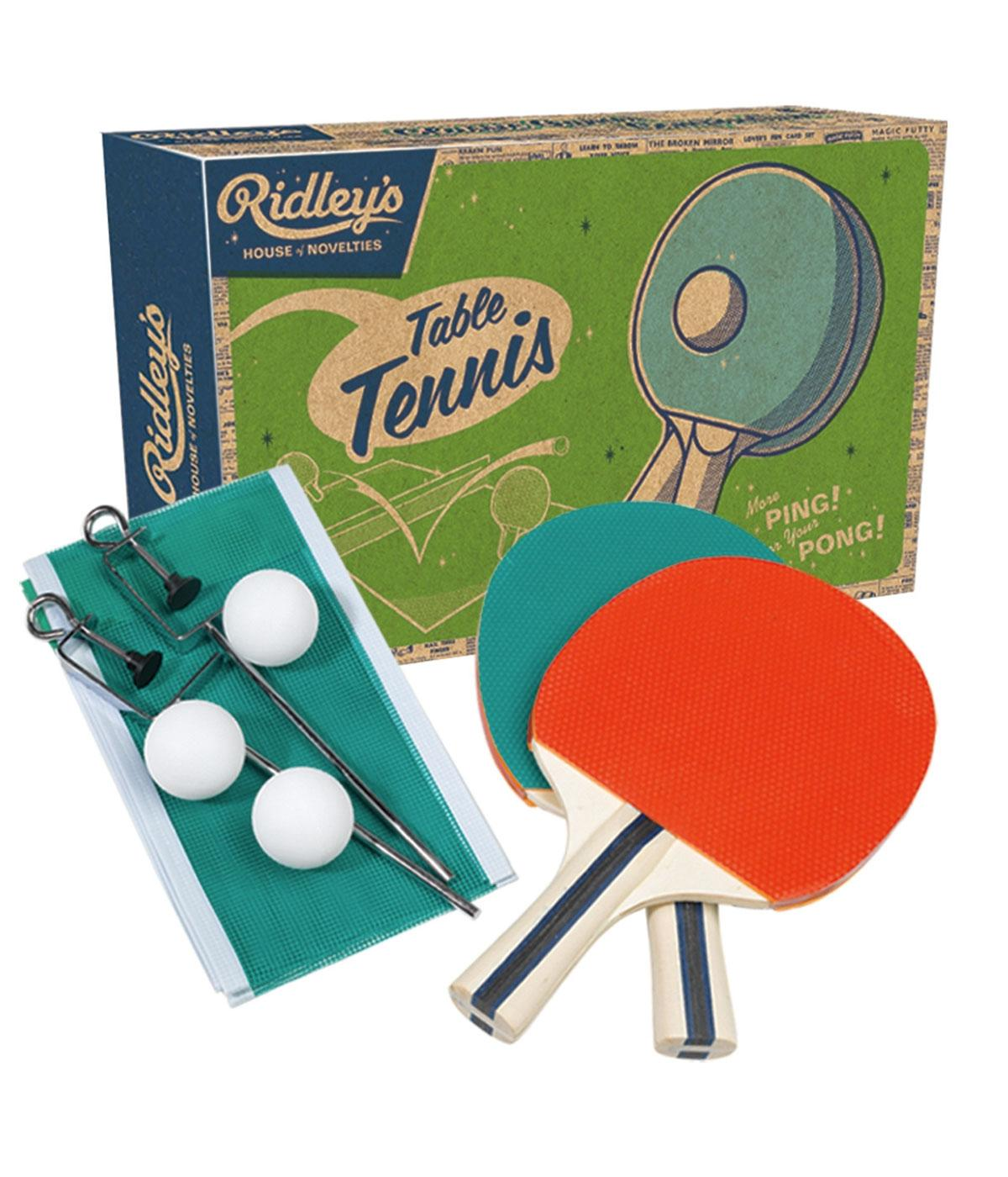 Table Tennis Ridley's Retro Vintage Ping Pong Set