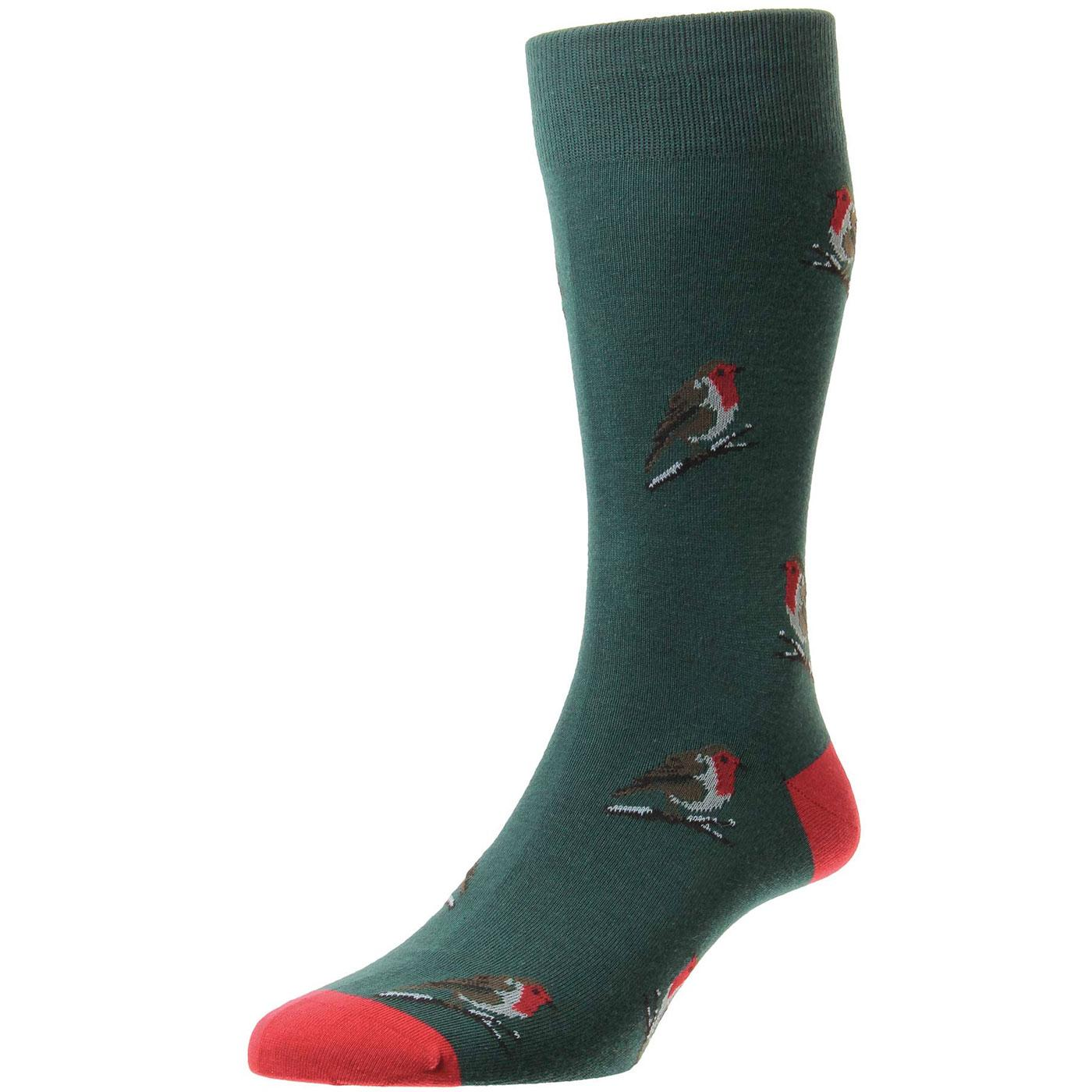 + Wray Robins SCOTT-NICHOL Retro Men's Socks