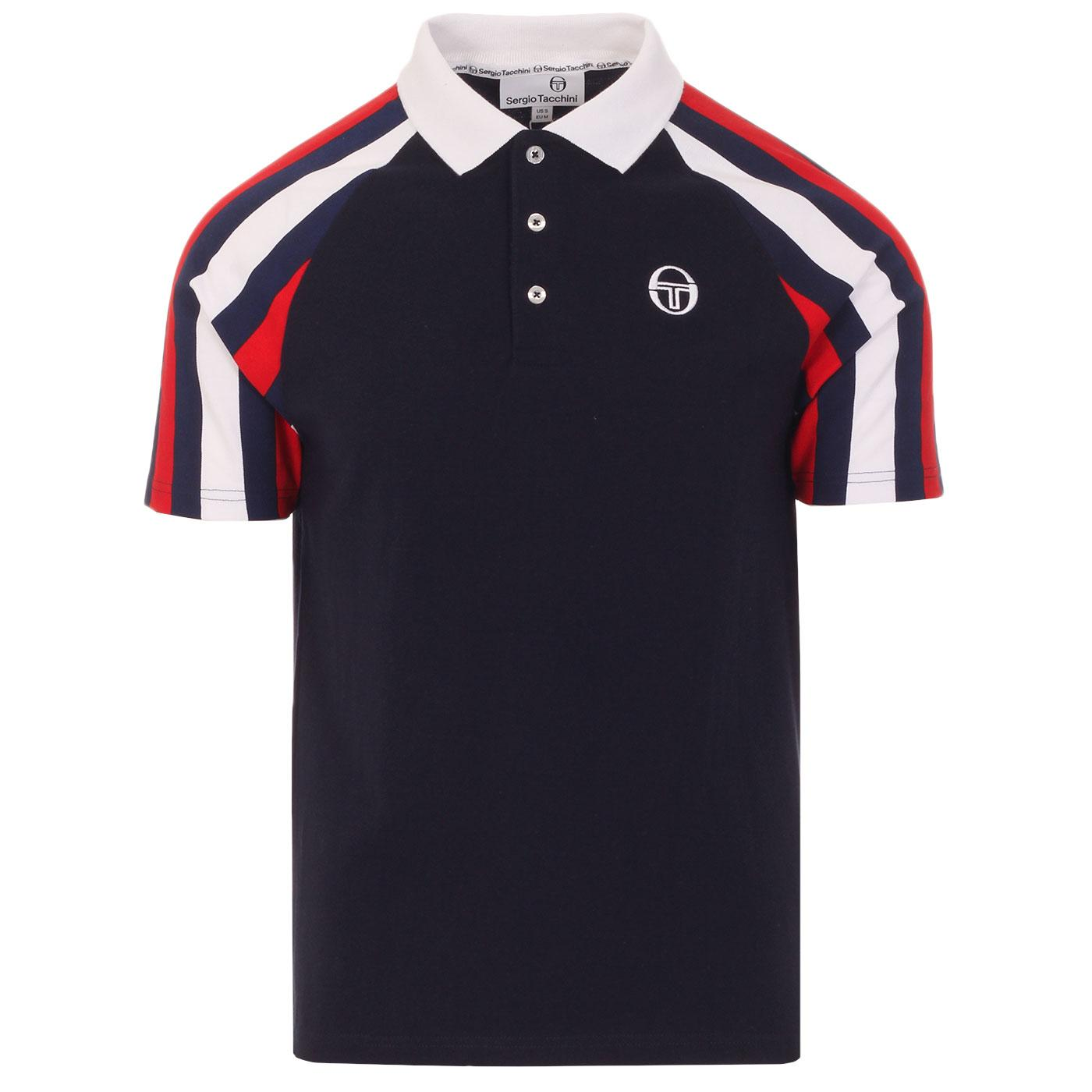 Blow SERGIO TACCHINI Retro 1980s Polo Shirt (NS)