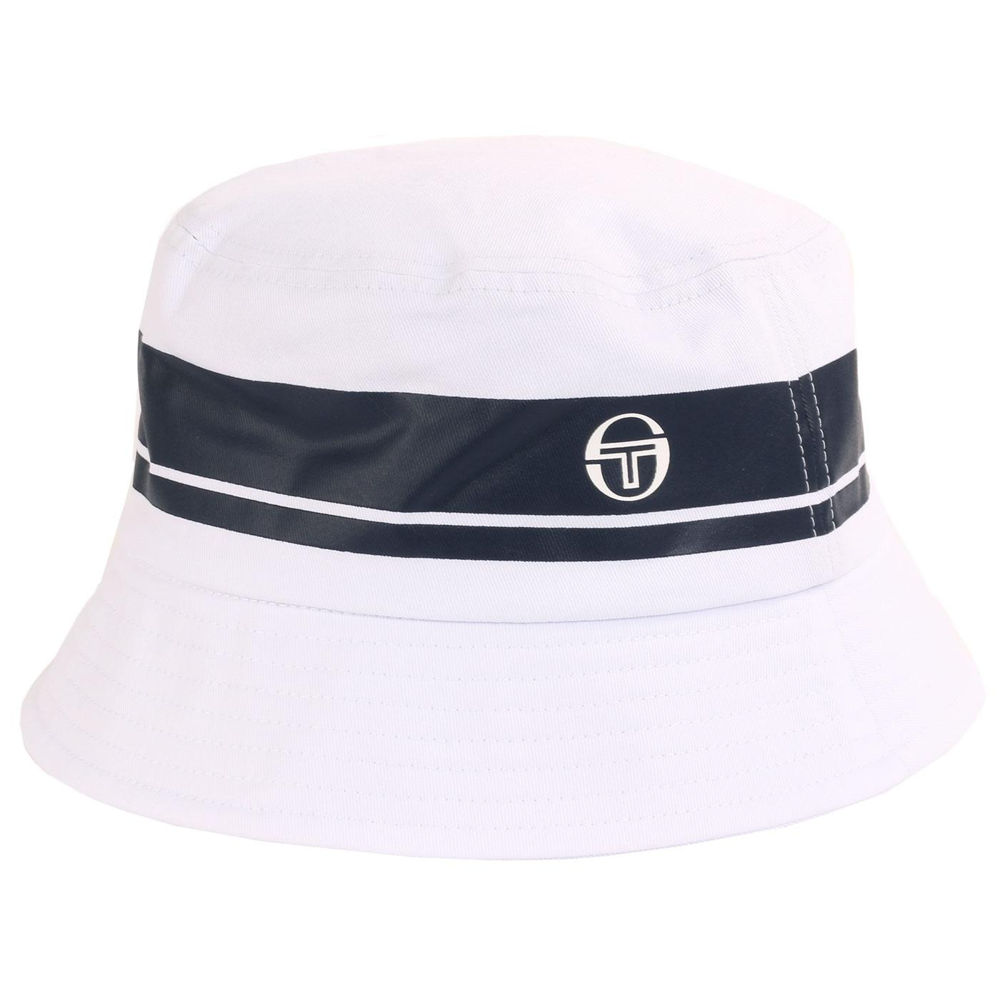 Greater SERGIO TACCHINI Retro 90s Bucket Hat WHITE