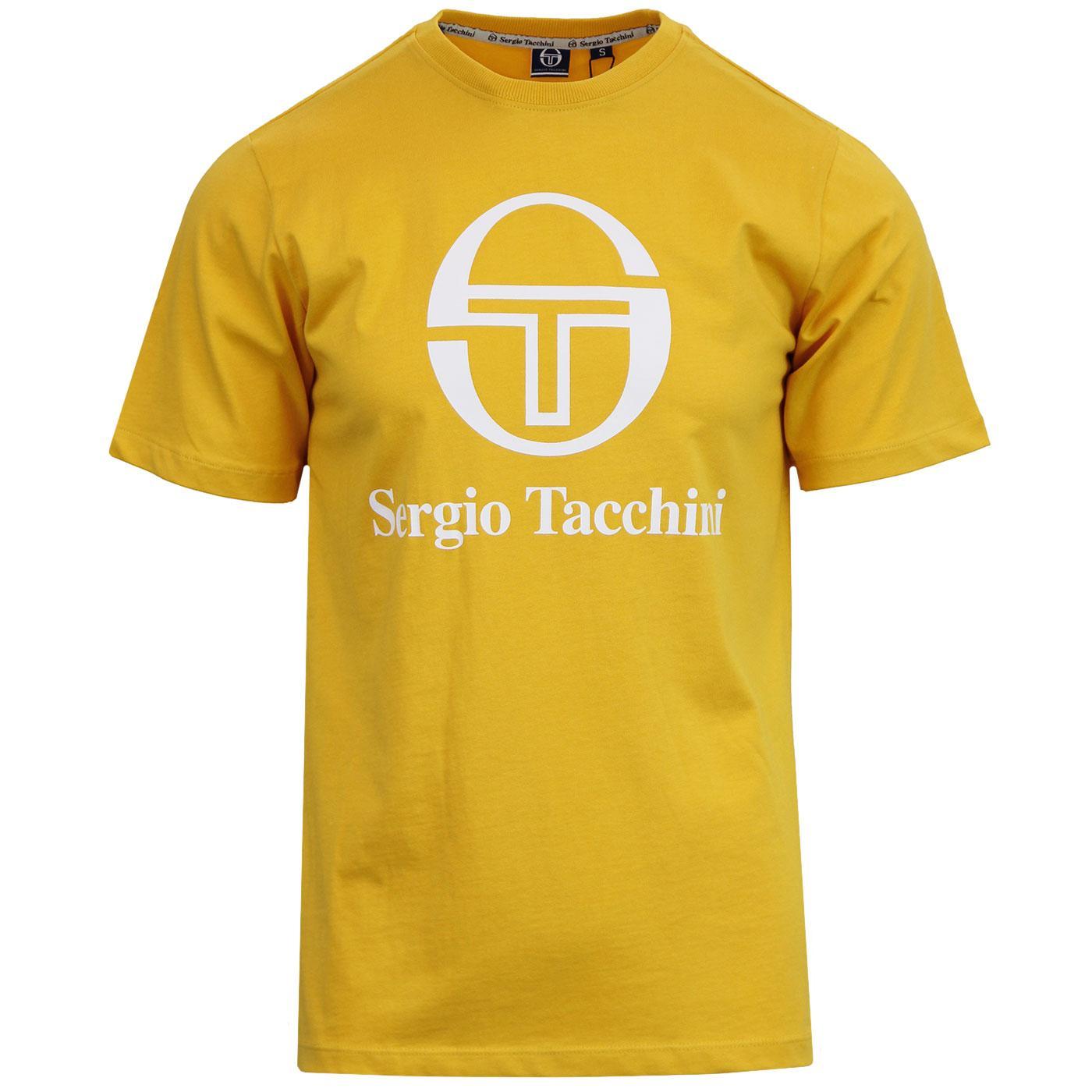 Chiko SERGIO TACCHINI Retro 80s Logo Tee (Mustard)