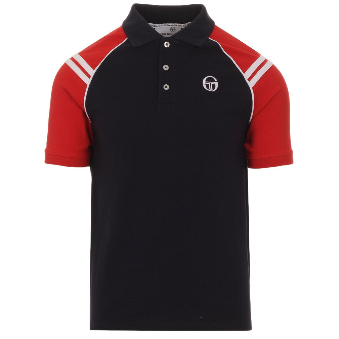 Cortona SERGIO TACCHINI Retro 80s Polo Top (NS)