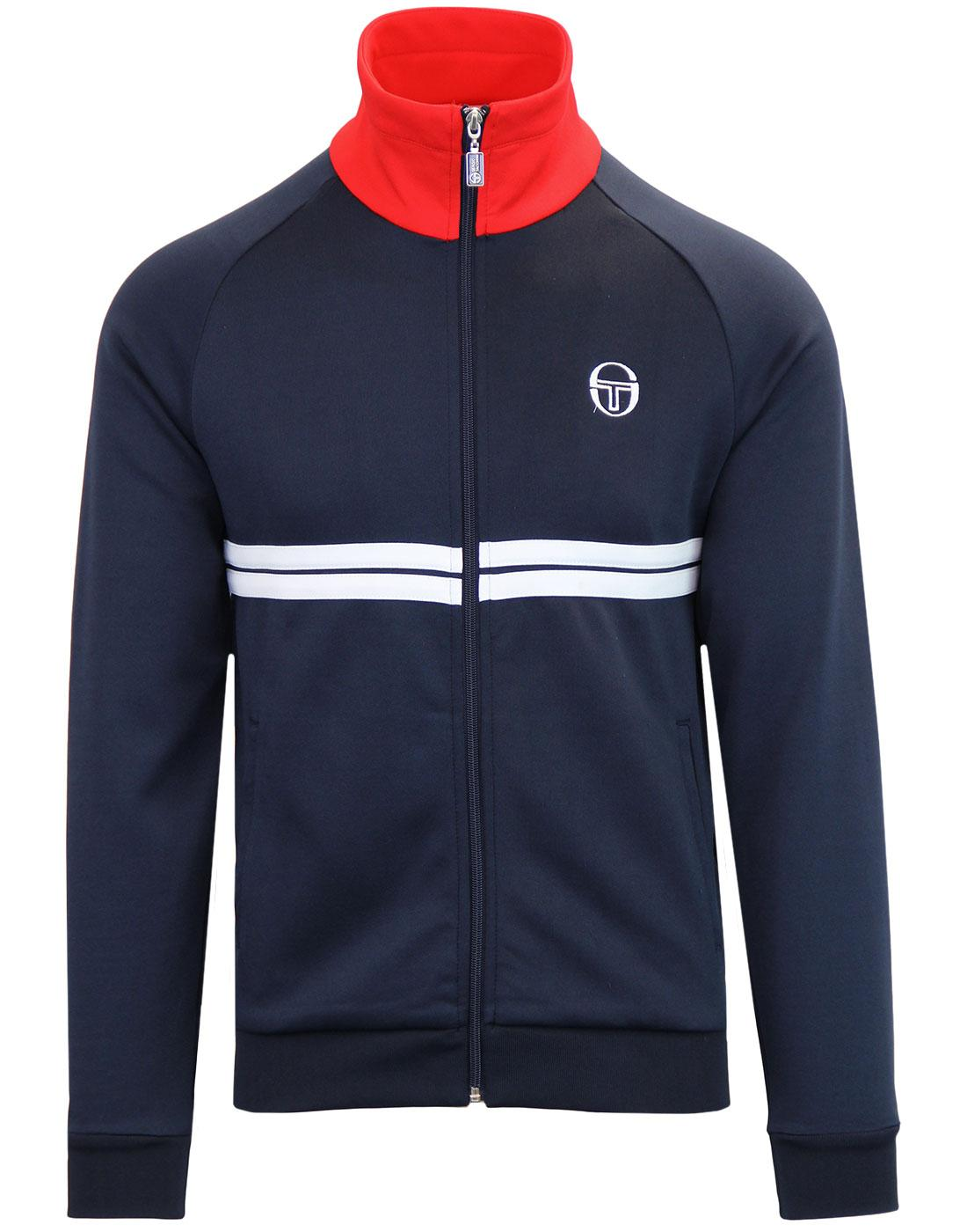 Dallas SERGIO TACCHINI Retro 80s McEnroe Track Top