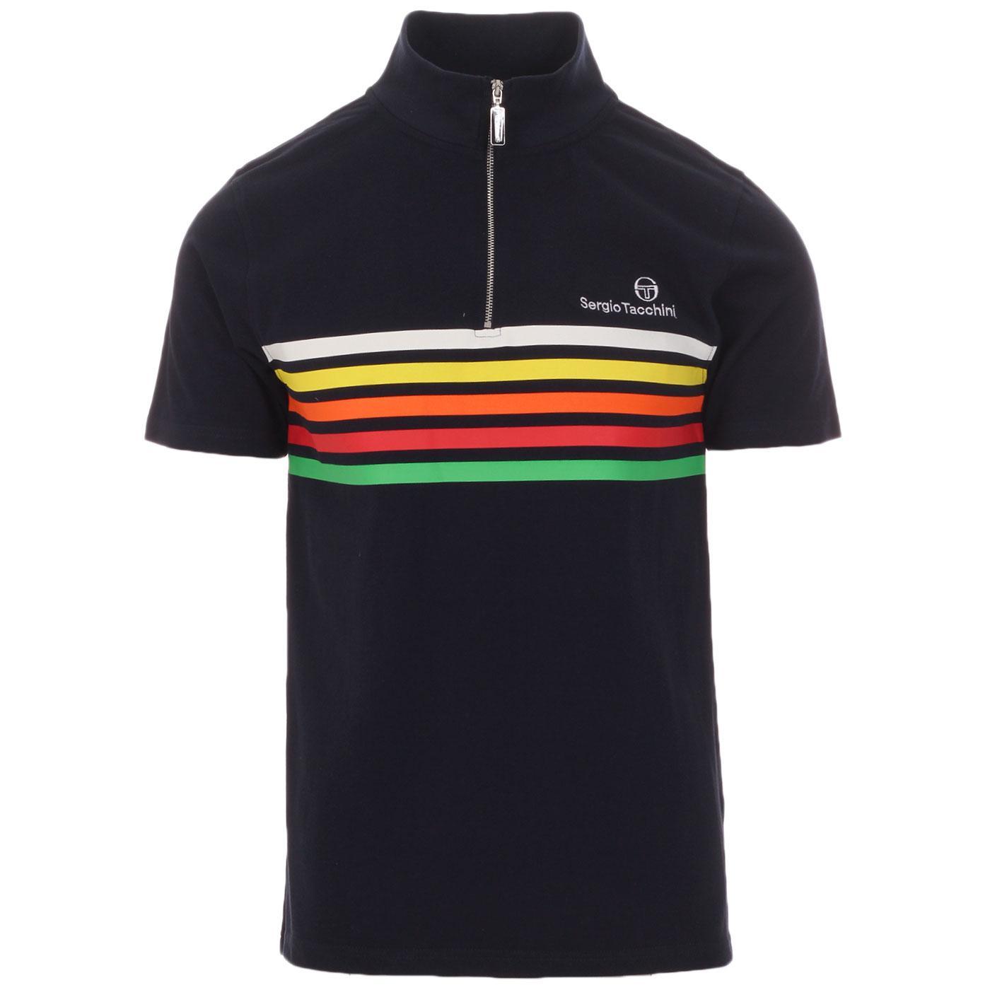 Federico SERGIO TACCHINI Retro Stripe Cycling Top