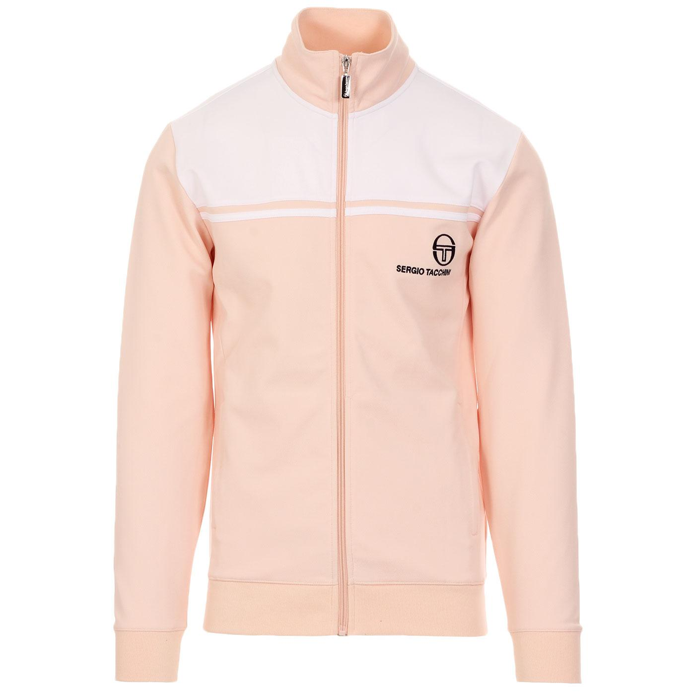 New Young Line SERGIO TACCHINI 80s Track Top BLUSH