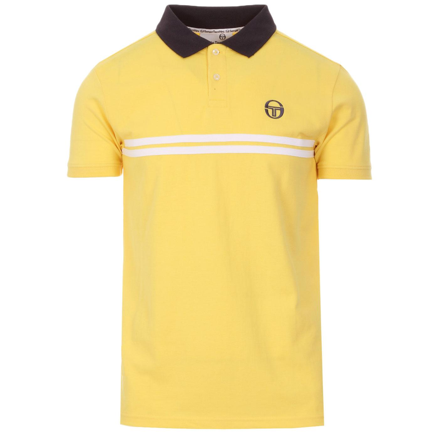 Supermac SERGIO TACCHINI Retro 80s Polo Top (G)