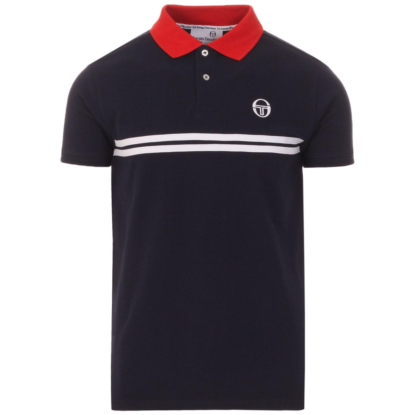 Supermac SERGIO TACCHINI Retro 80s Polo Top (NS)