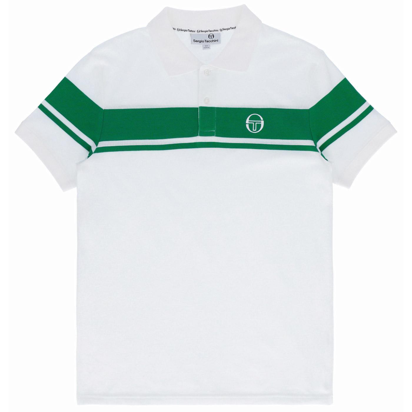 Young Line SERGIO TACCHINI Retro Stripe Polo (W/G)