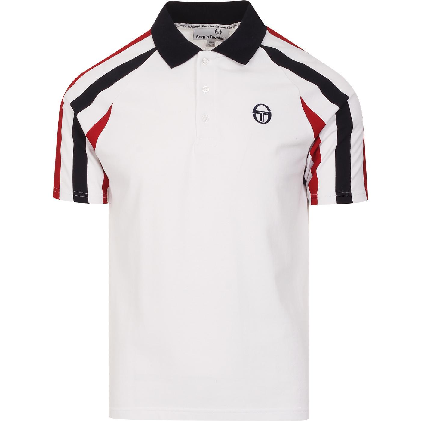 Blow SERGIO TACCHINI Retro 1980s Polo Shirt (W)