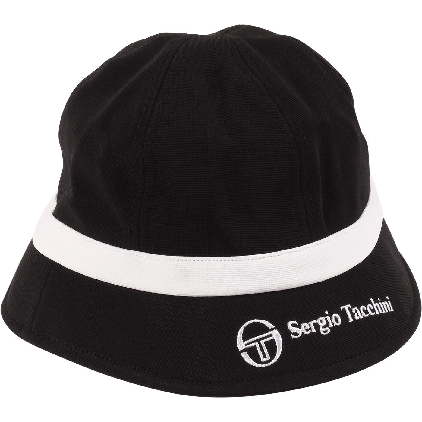 Fyan SERGIO TACCHINI Retro 1990s Bucket Hat (B/W)