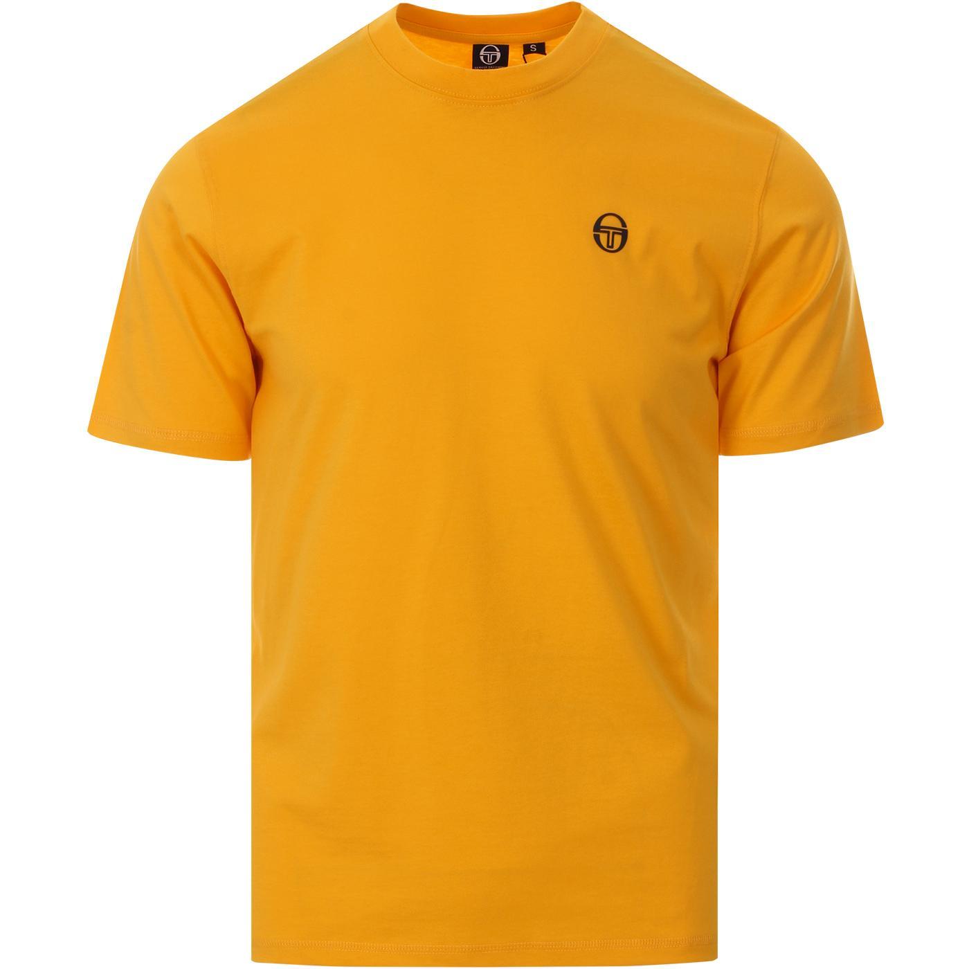 Run 020 SERGIO TACCHINI Retro Logo Tee (Yellow)