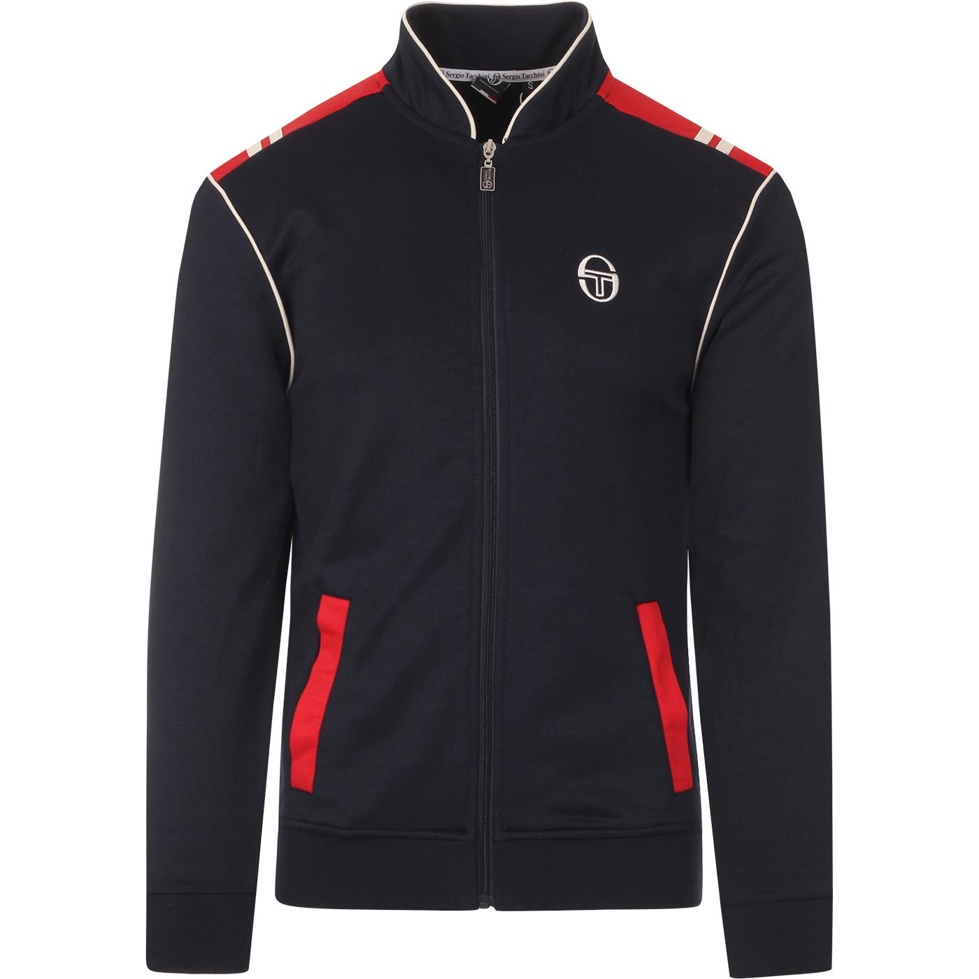 Sammy SERGIO TACCHINI Retro 80s Panel Track Top TE