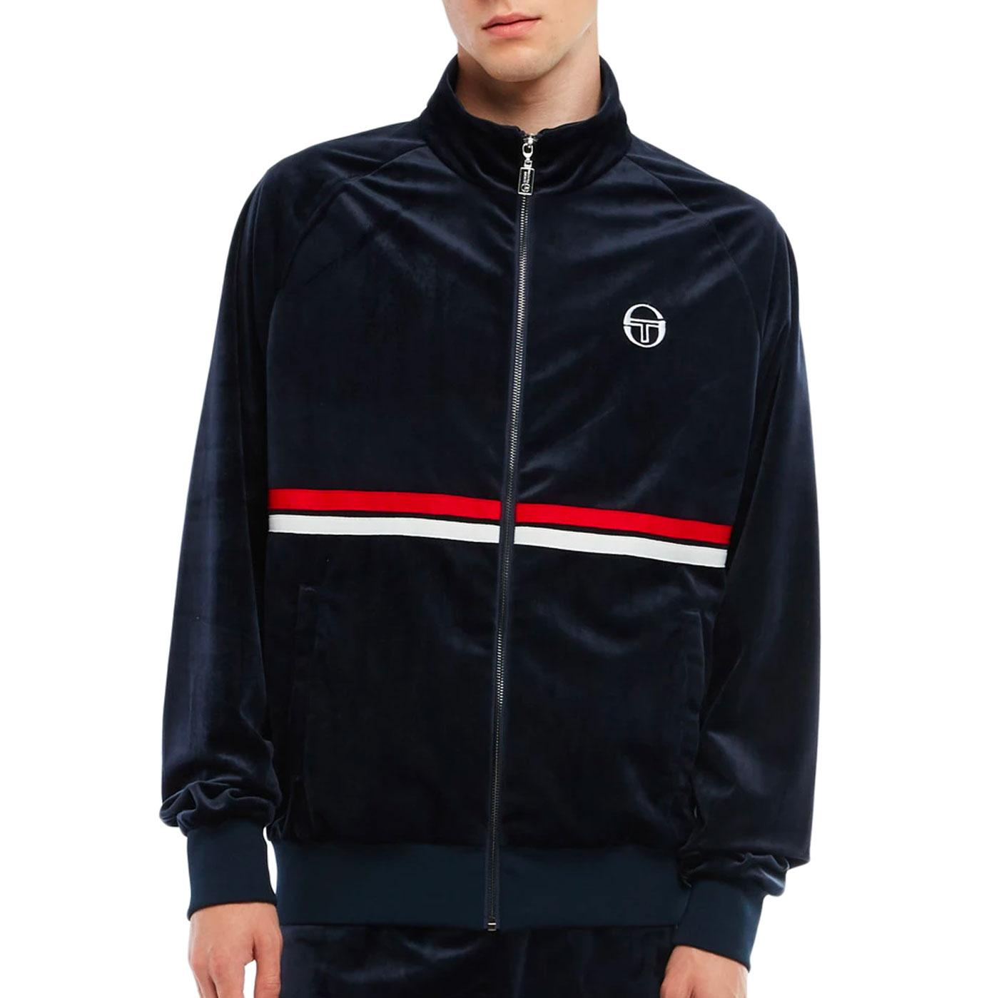 Dallas Velour SERGIO TACCHINI Retro Track Jacket N