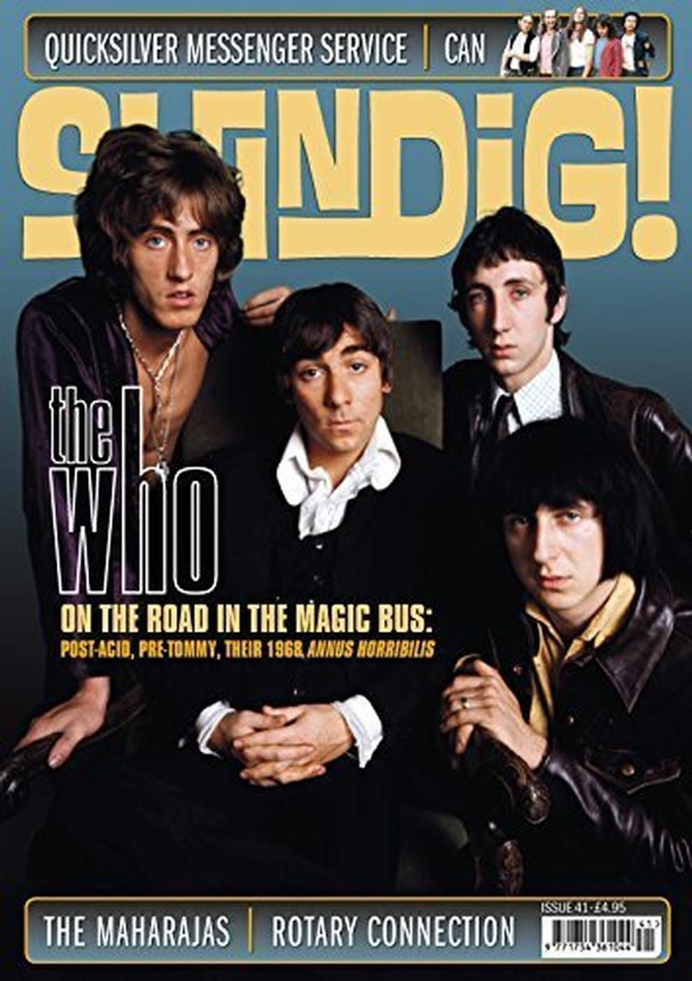 + SHINDIG! MAGAZINE Issue 41 The Who On the Road