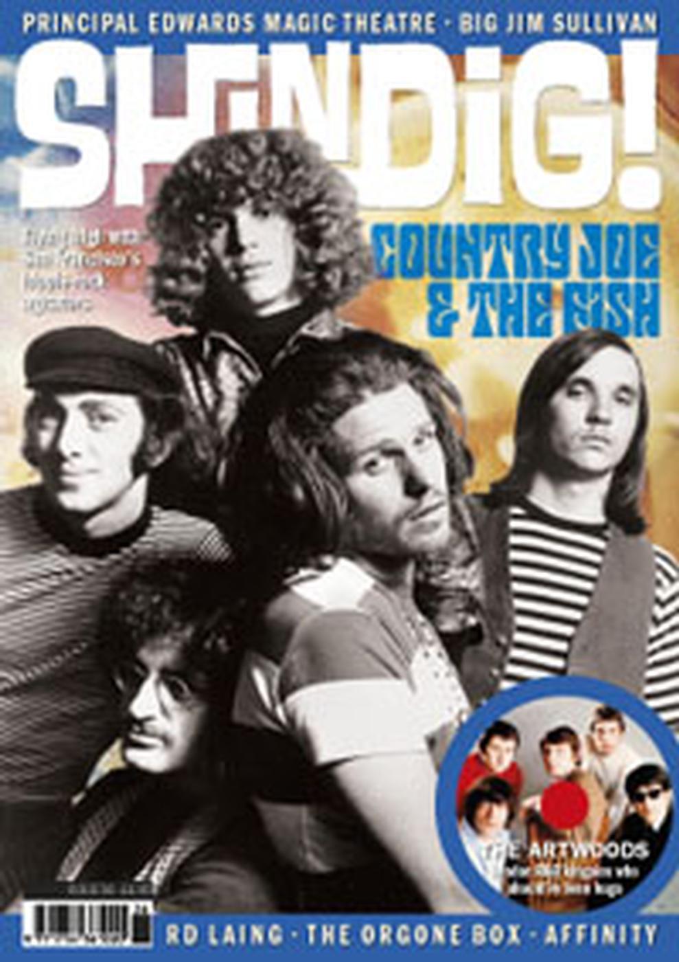 + 'SHINDIG!' MAGAZINE - Issue 36 Feat Country Joe