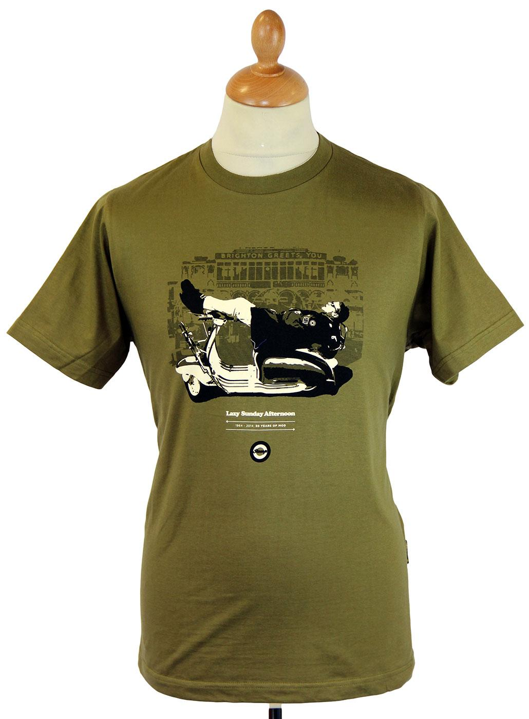 Lazy Sunday Afternoon STOMP 50 Years of Mod Tee O