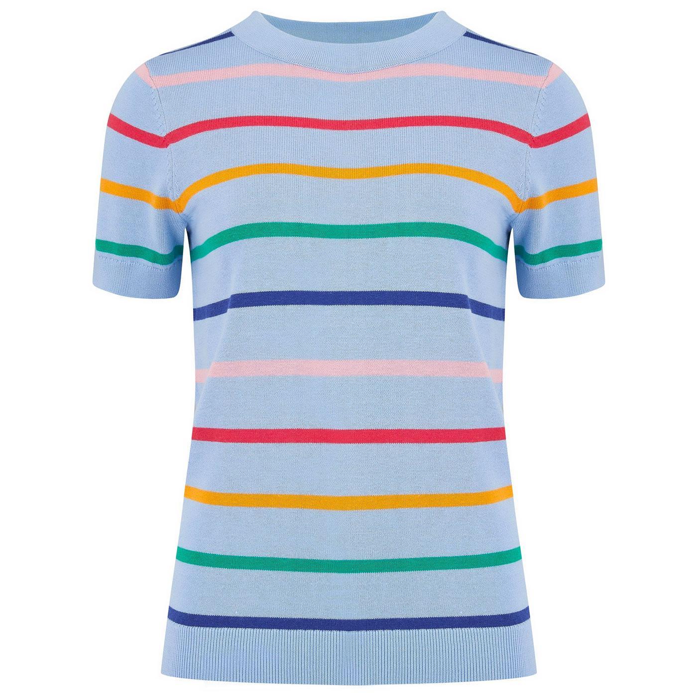 Anoki SUGARHILL Retro Daytripper Stripe Knit Tee