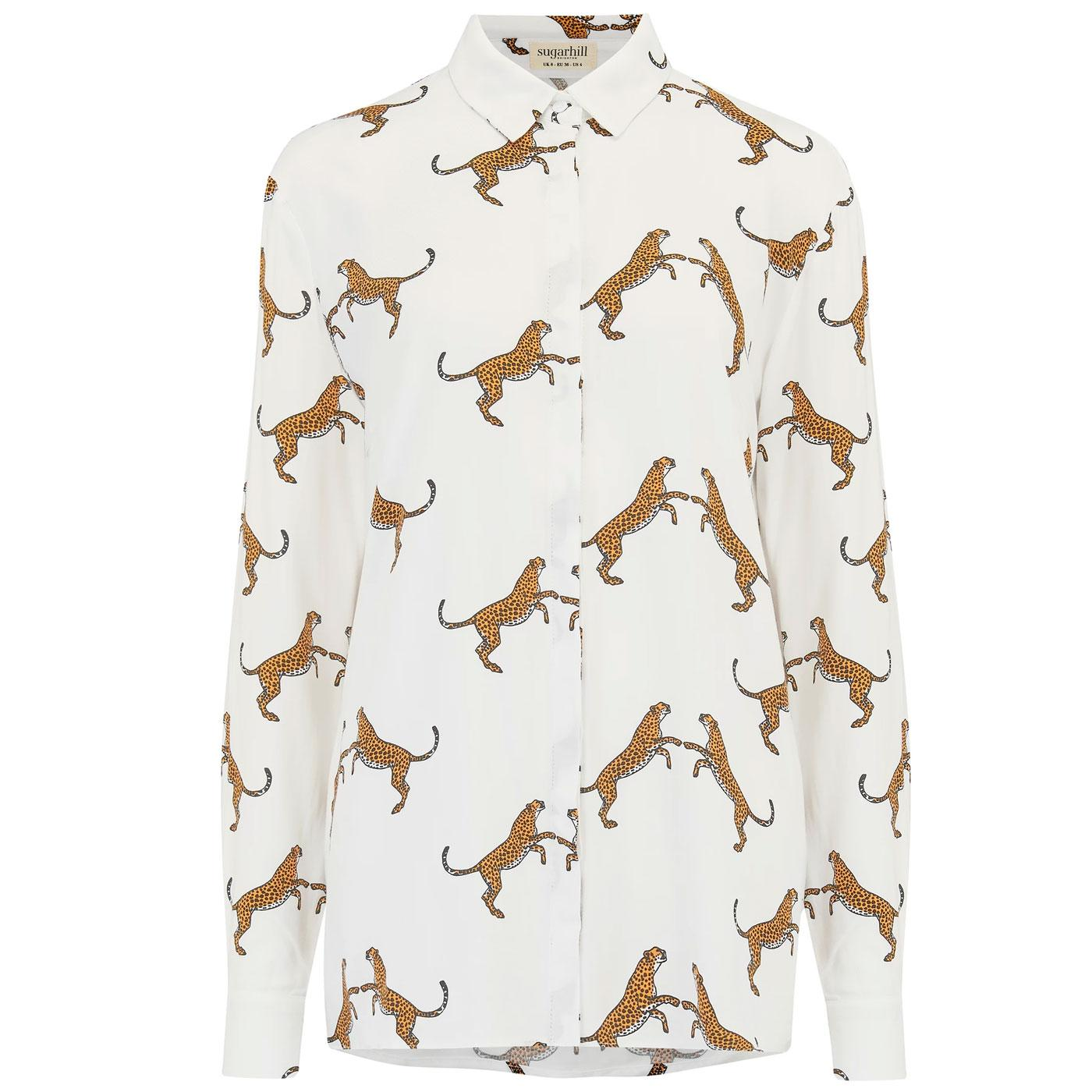Joy SUGARHILL BRIGHTON Dancing Cheetahs Shirt