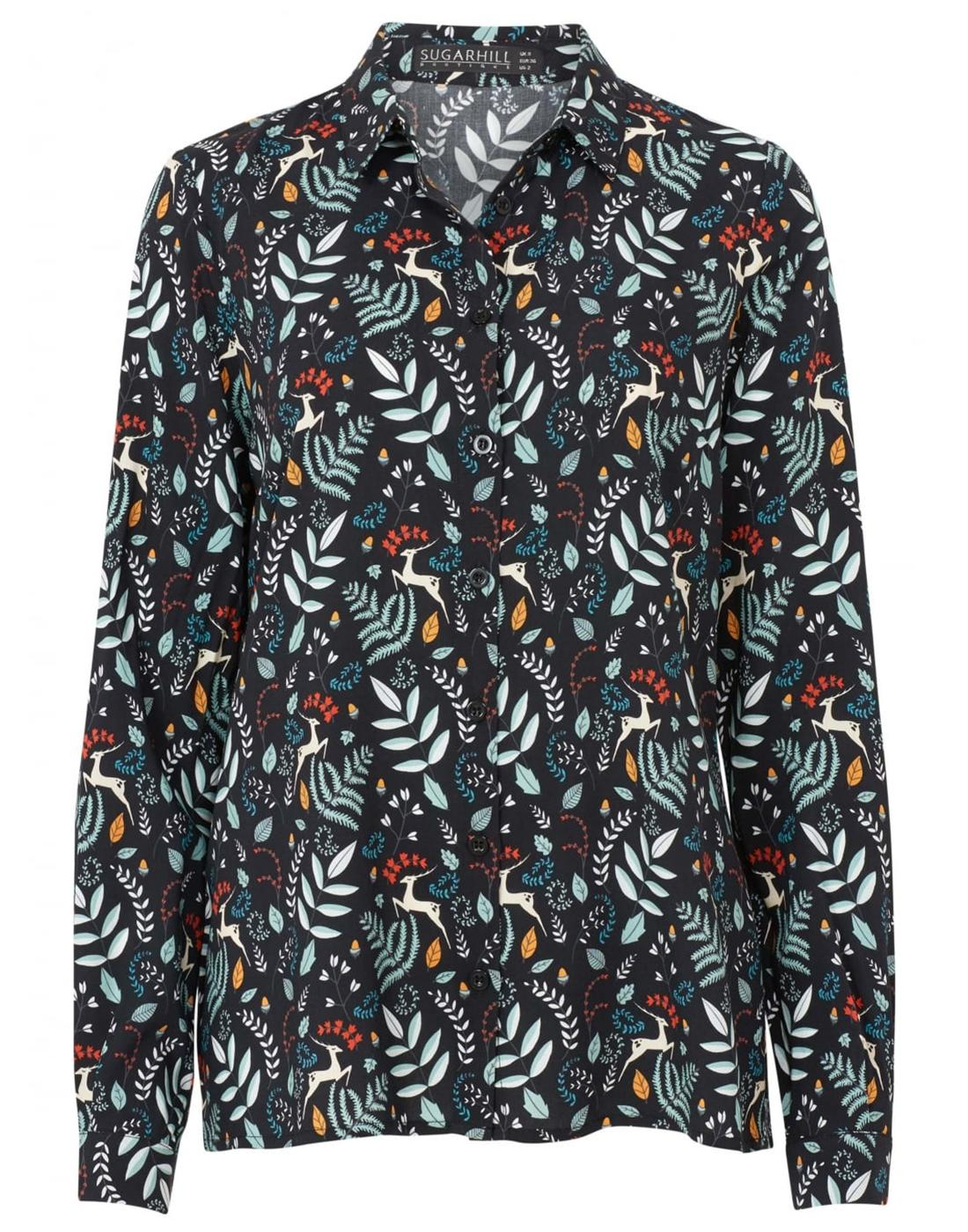 Erin SUGARHILL BOUTIQUE Enchanted Forest Shirt