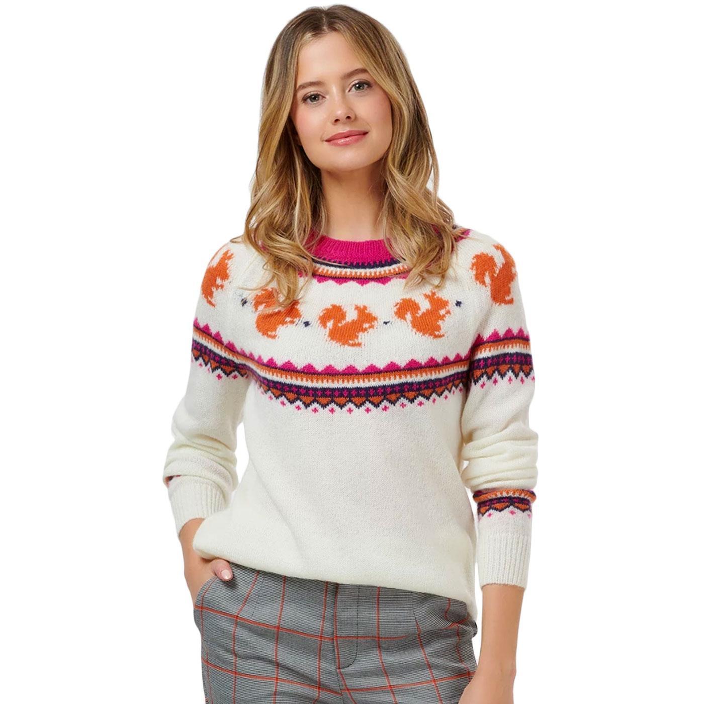 Winnie SUGARHILL BRIGHTON Nuts About You Sweater