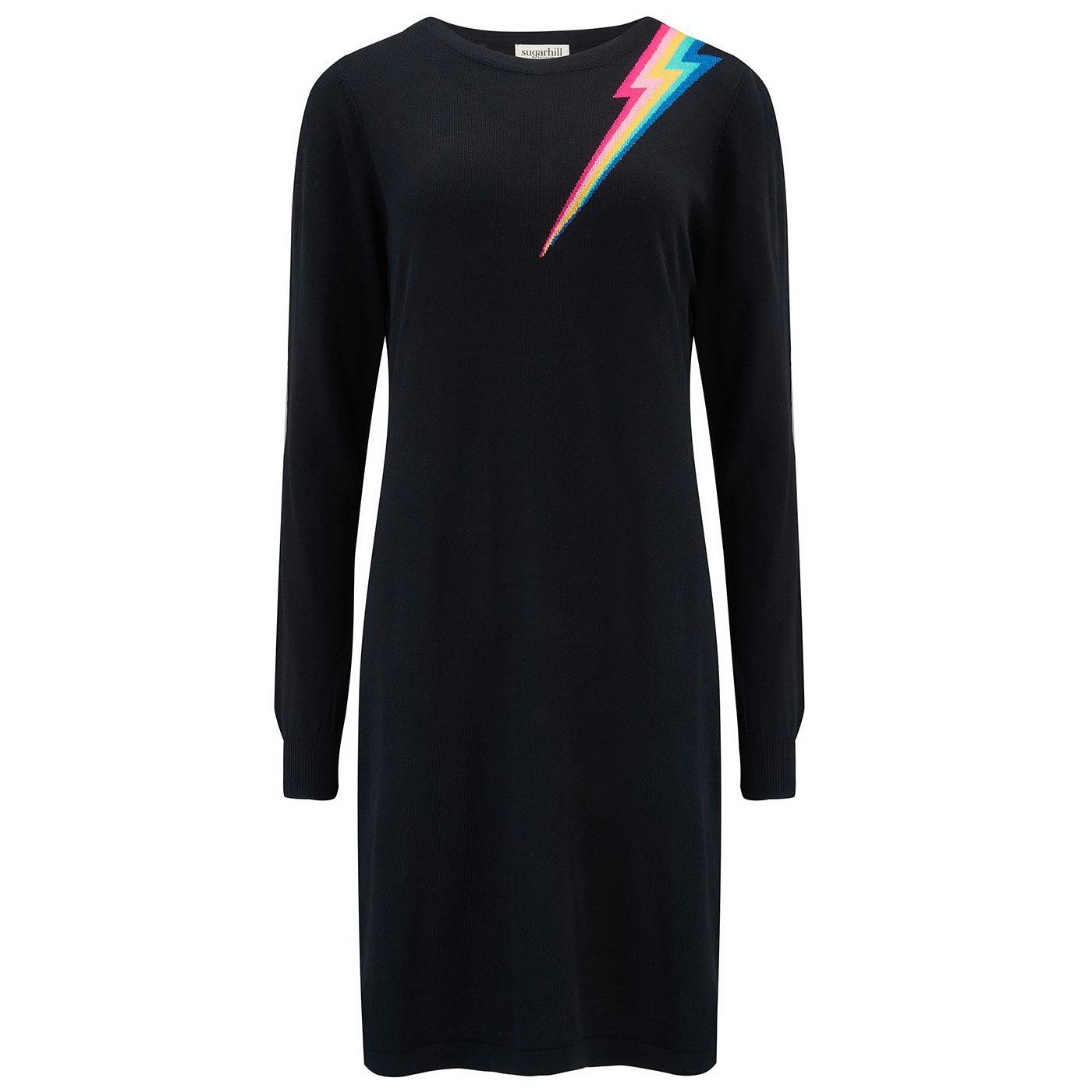 Evie SUGARHILL BRIGHTON Retro Lightning Knit Dress