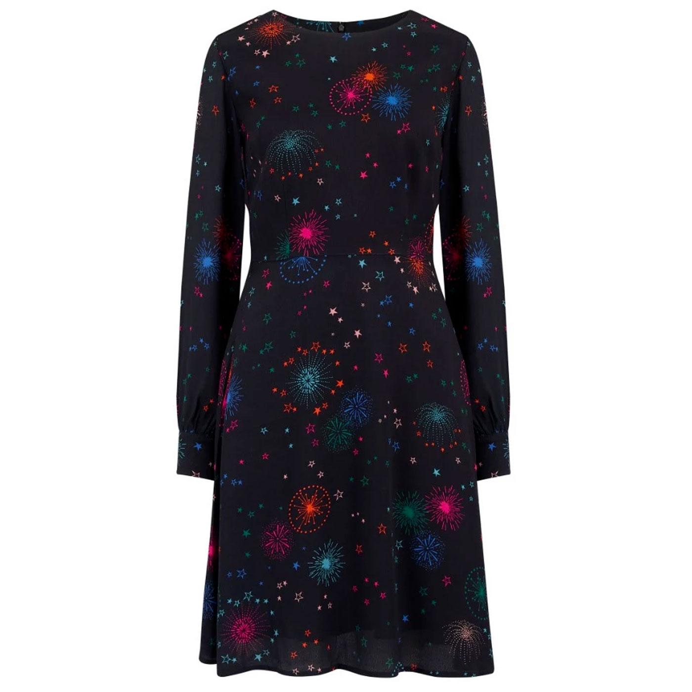 Jocelyn SUGARHILL BRIGHTON Fireworks Print Dress