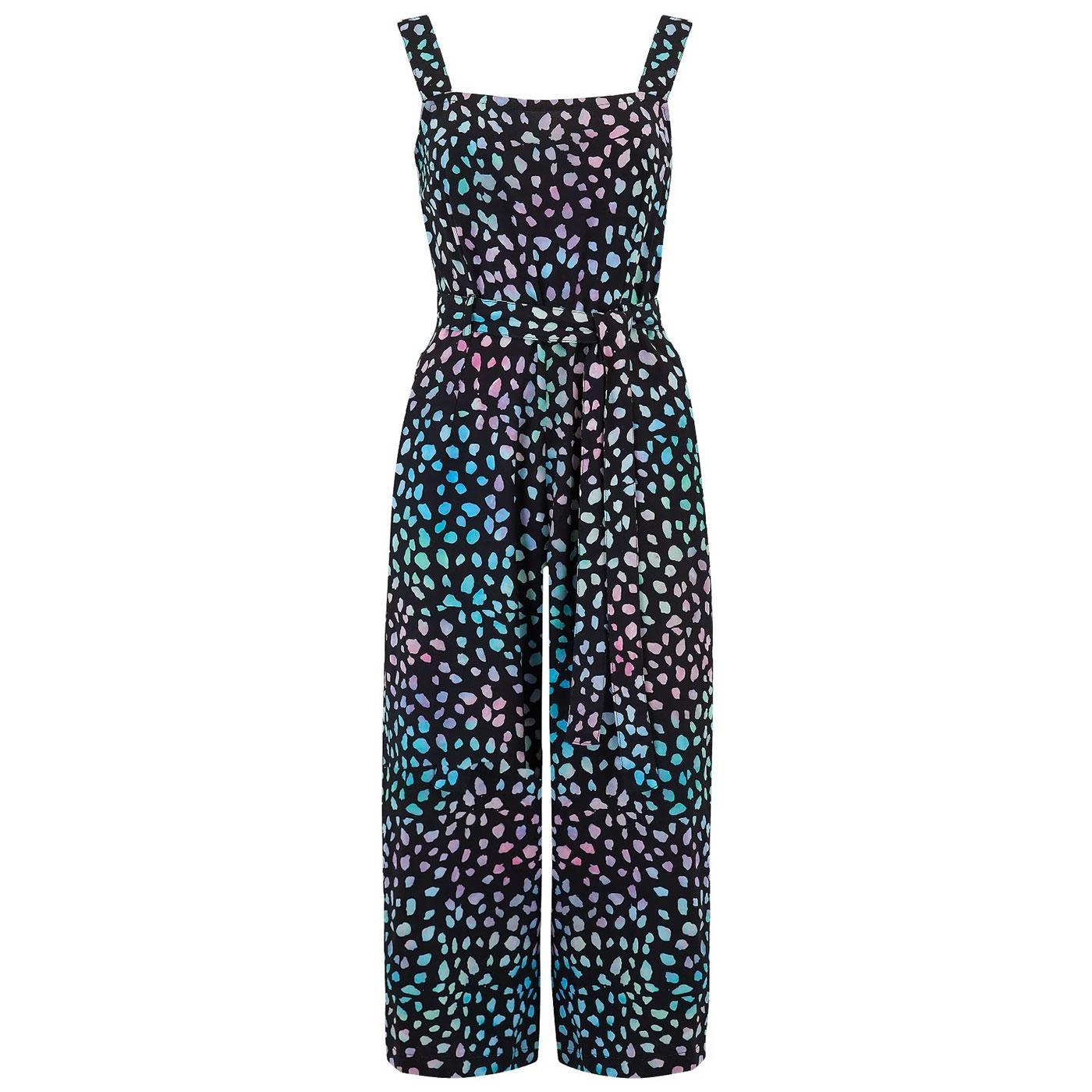 Millie SUGARHILL Painterly Dot Culotte Jumpsuit