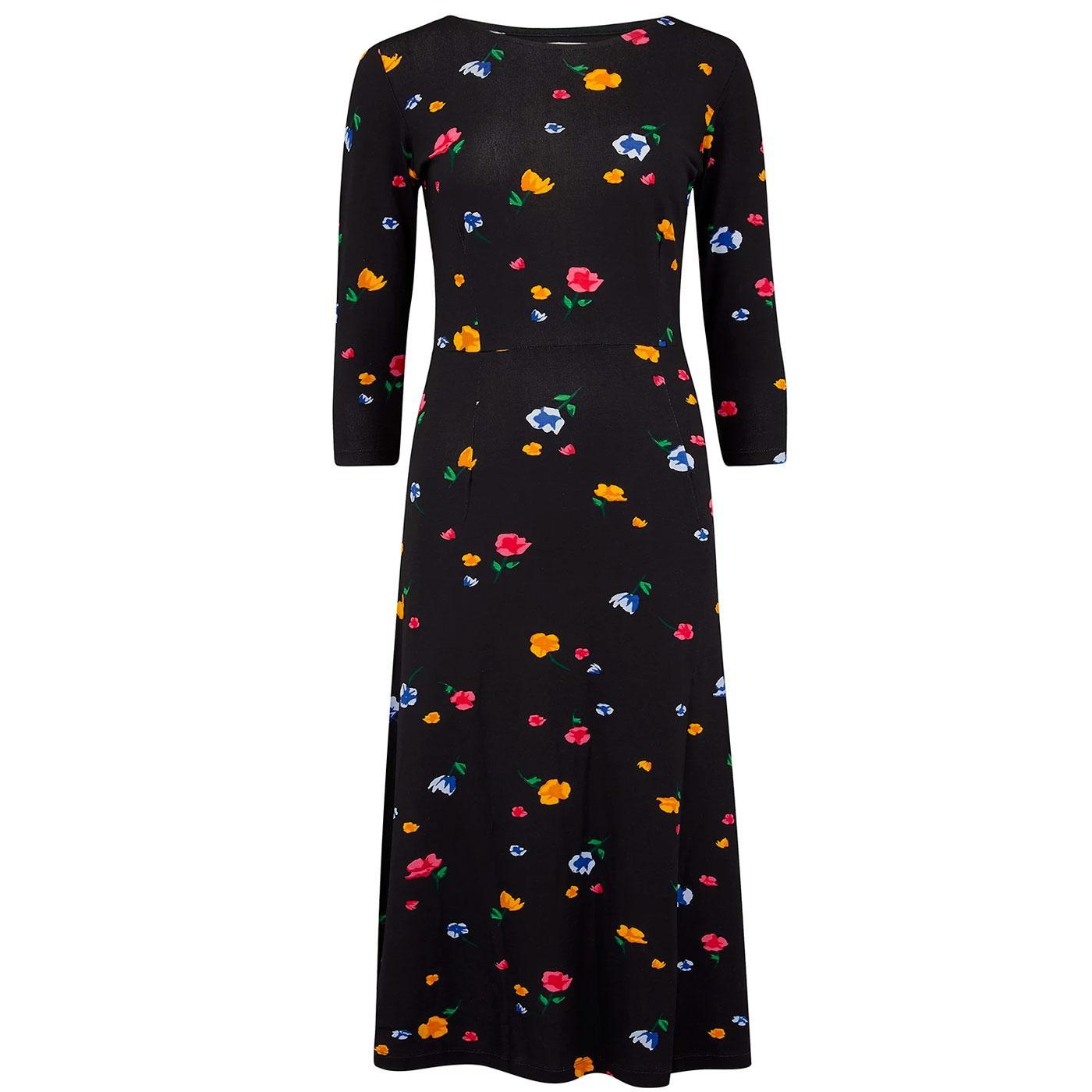 Nixie SUGARHILL BRIGHTON Painterly Floral Dress