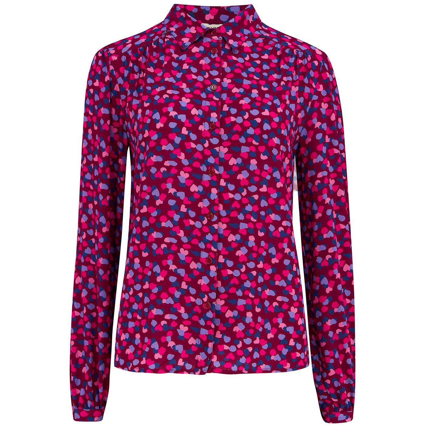 Queenie SUGARHILL Retro Confetti Petals Shirt