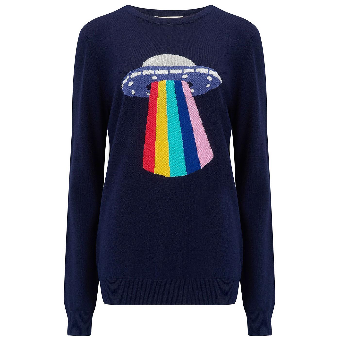 Rita SUGARHILL Retro UFO Rainbow Beam Jumper