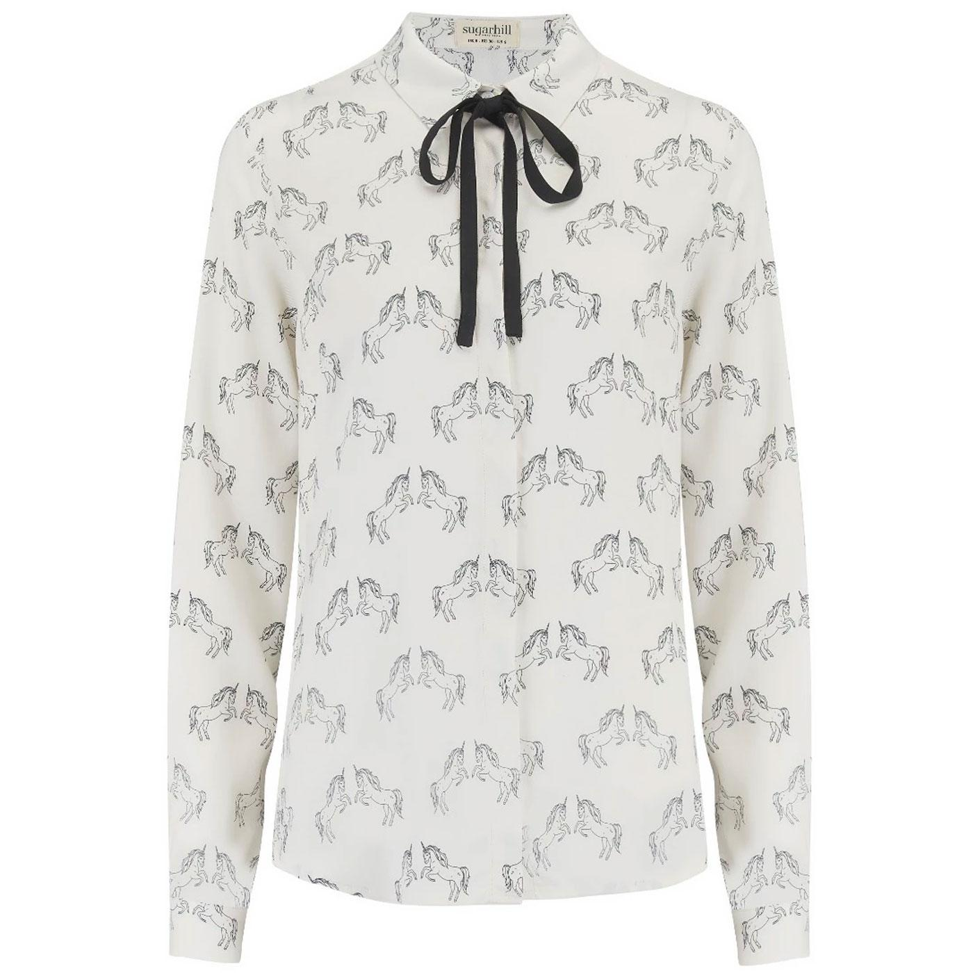 Catrina SUGARHILL BRIGHTON Unicorn Sketch Shirt