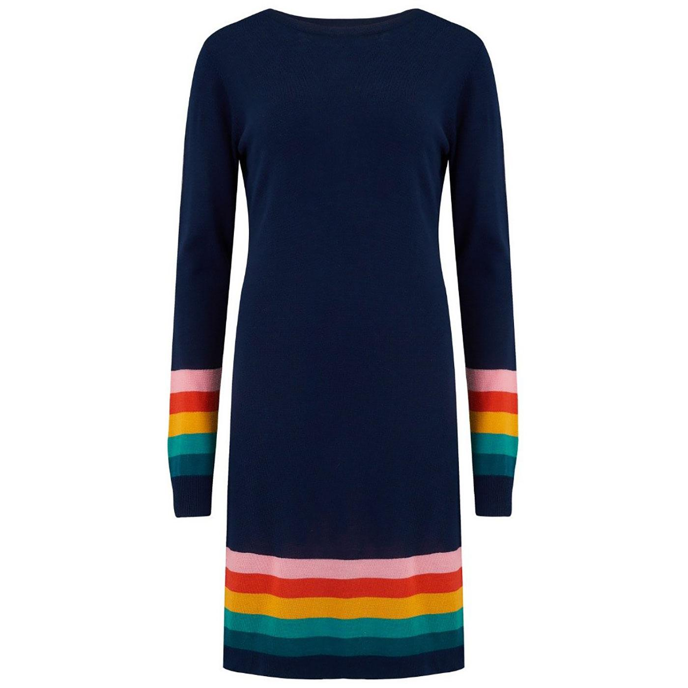 Evie SUGARHILL BRIGHTON Summer Stripe Knit Dress