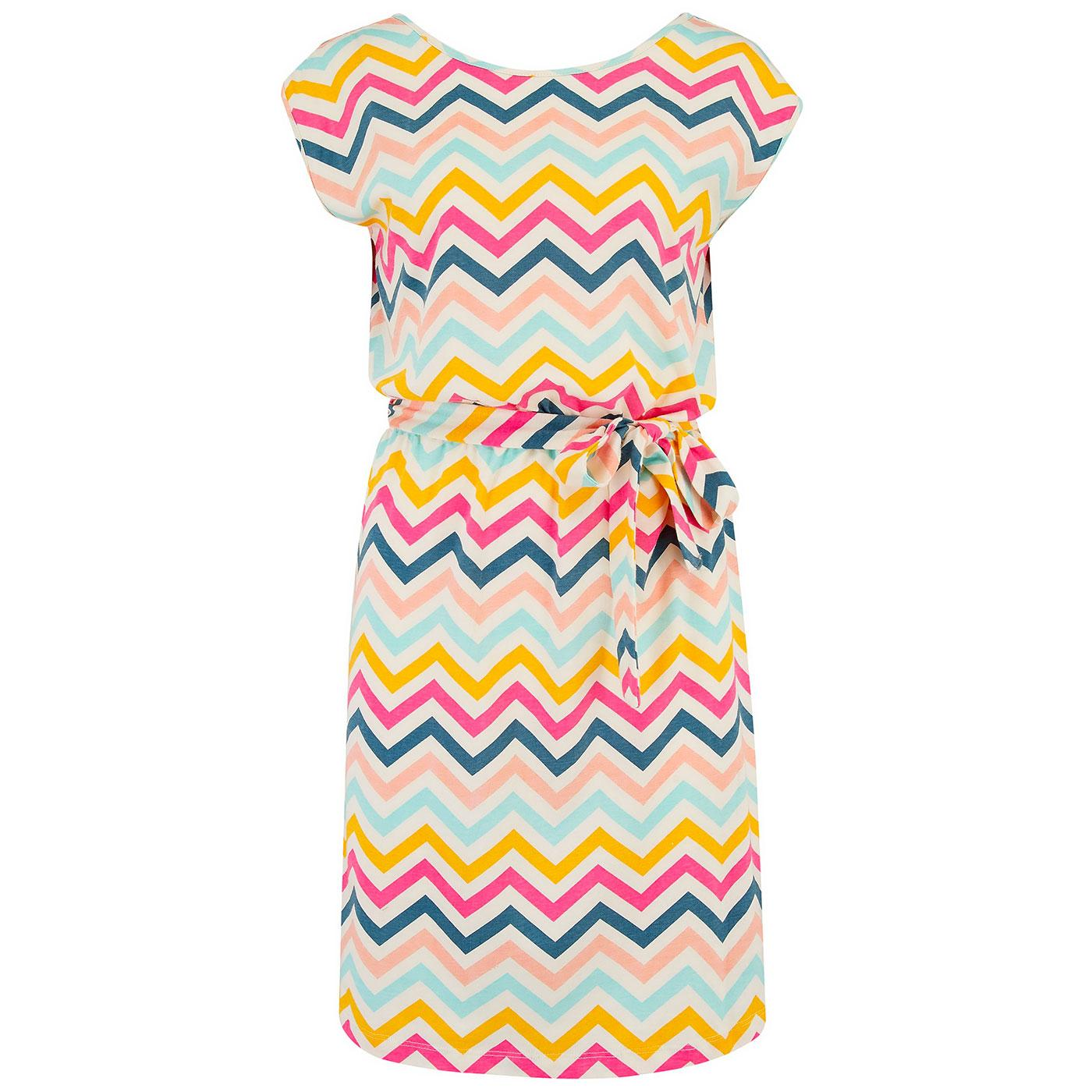 Hetty SUGARHILL Retro Rio Chevron Summer Dress