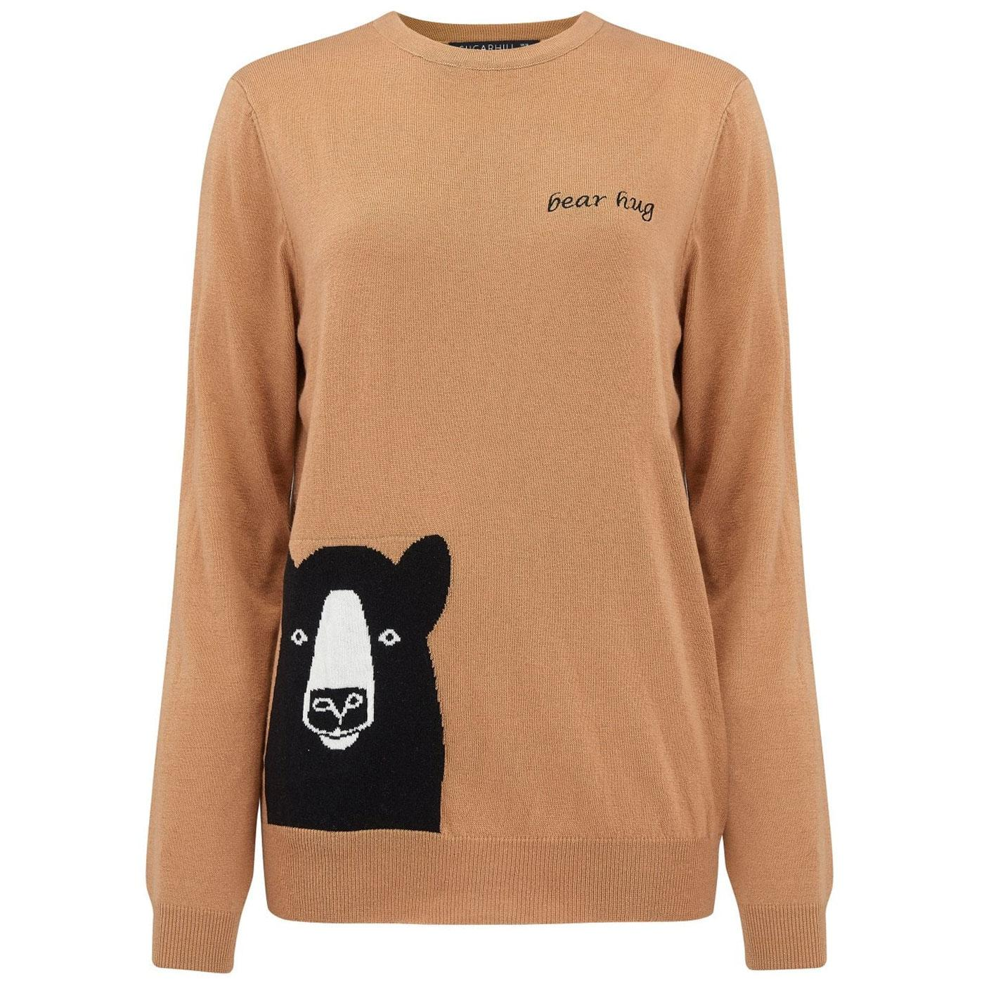 Jessica Bear Hug SUGARHILL BOUTIQUE Sweater Tan