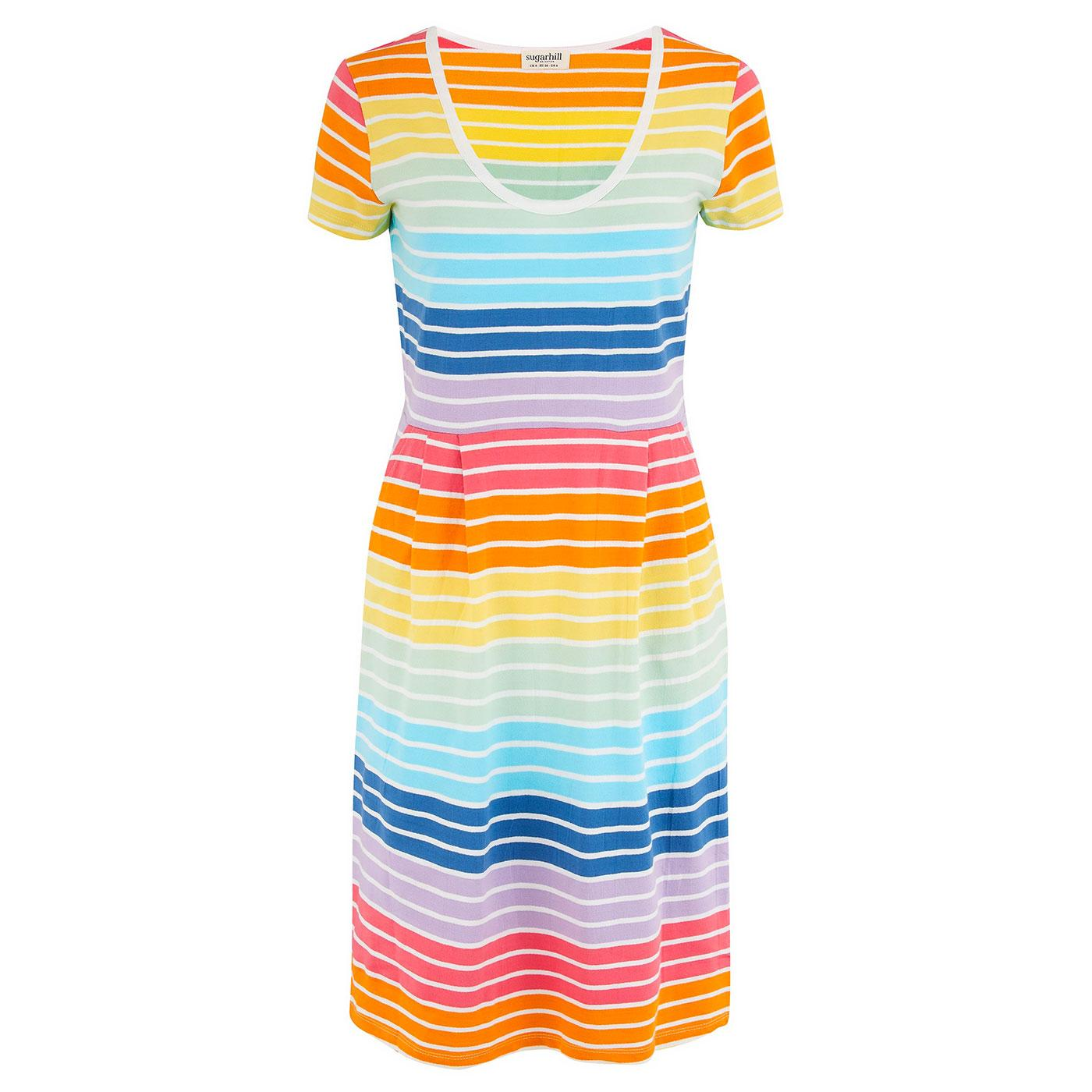 Liliana SUGARHILL Retro Daylight Spectrum Dress