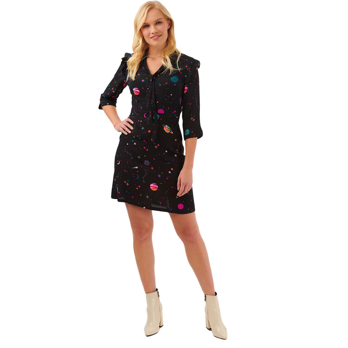 Maeve SUGARHILL Retro Cyber Candy Print Mini Dress